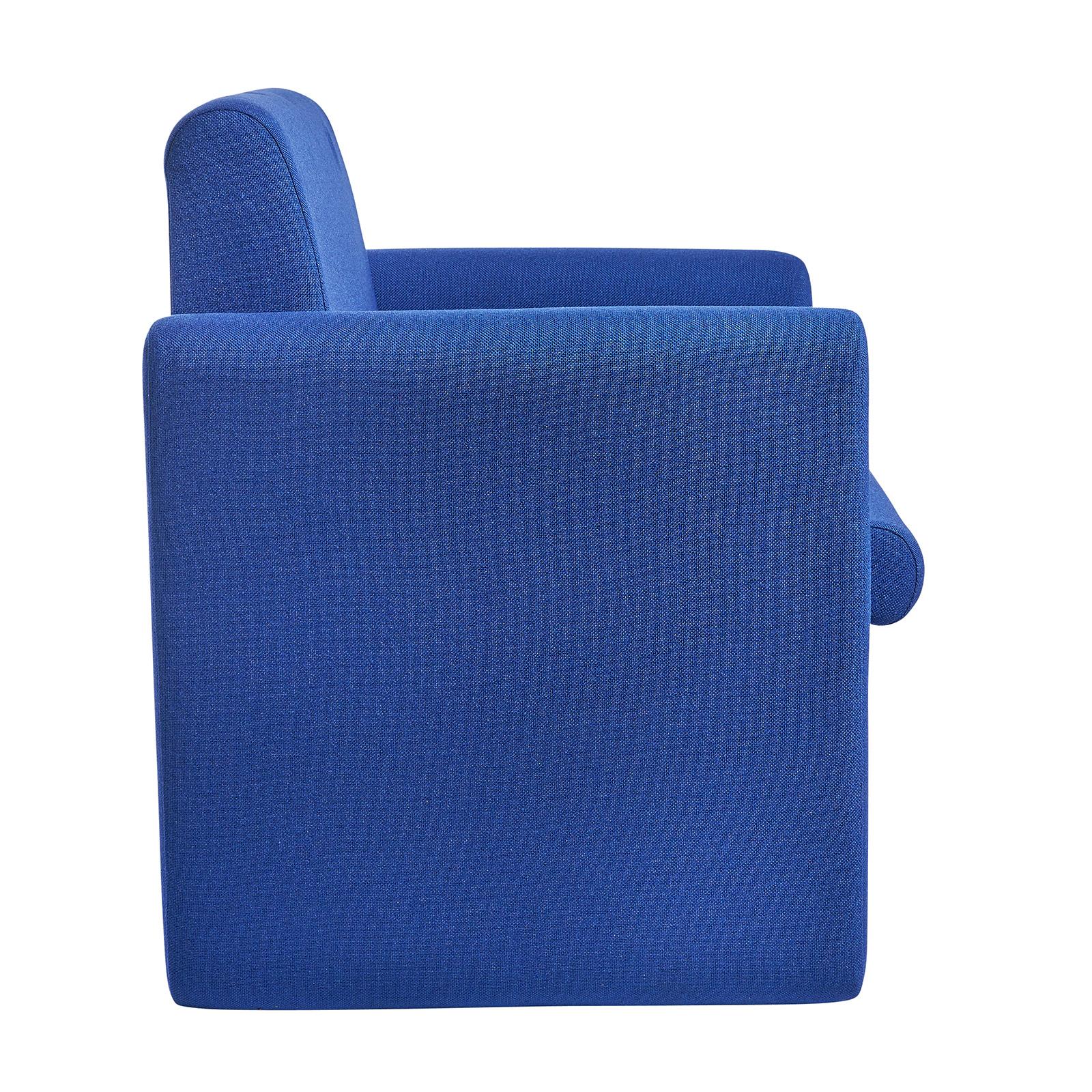 Alto modular reception seating armchair - blue