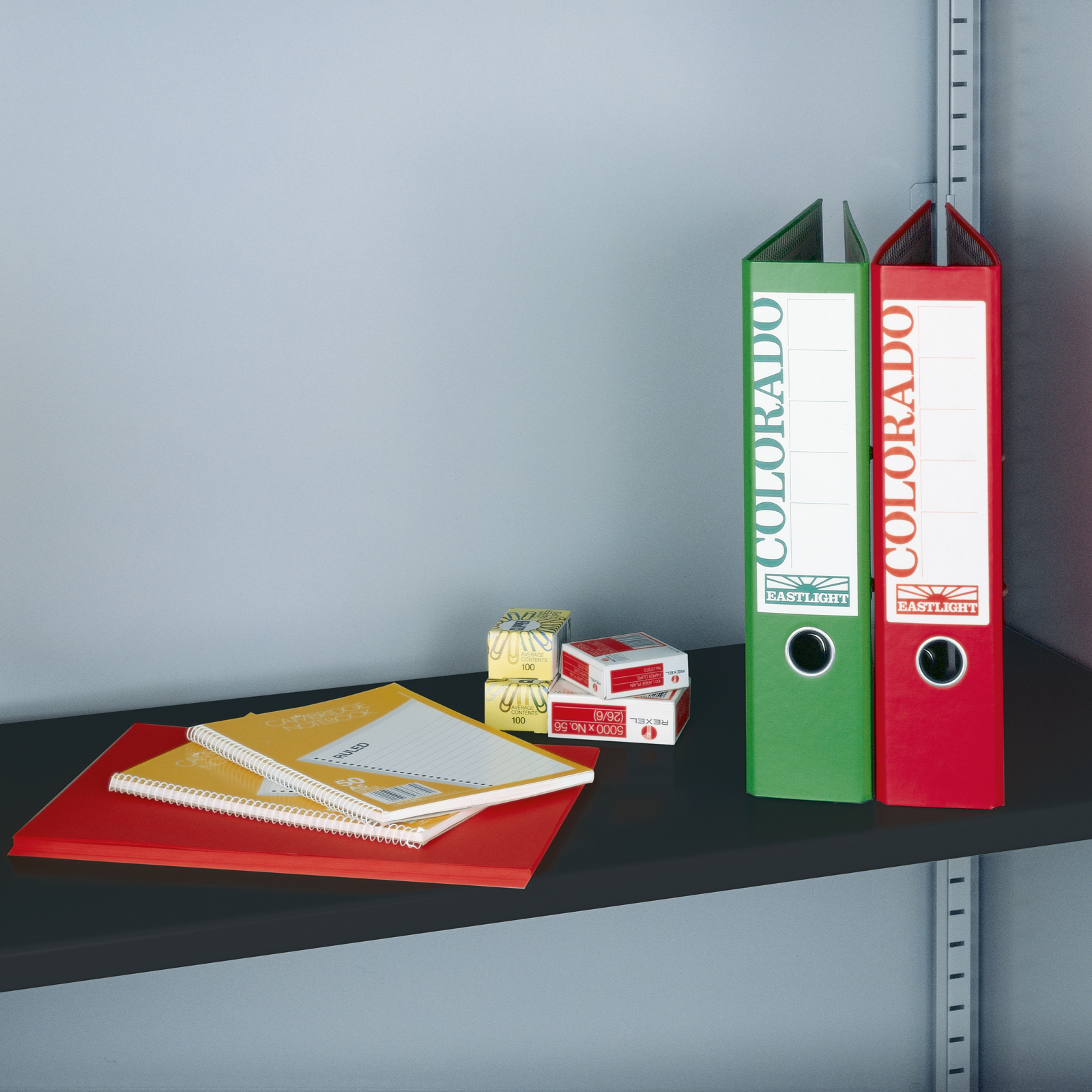 Spare Shelves Extra shelf for steel storage cupboards and tambours - black