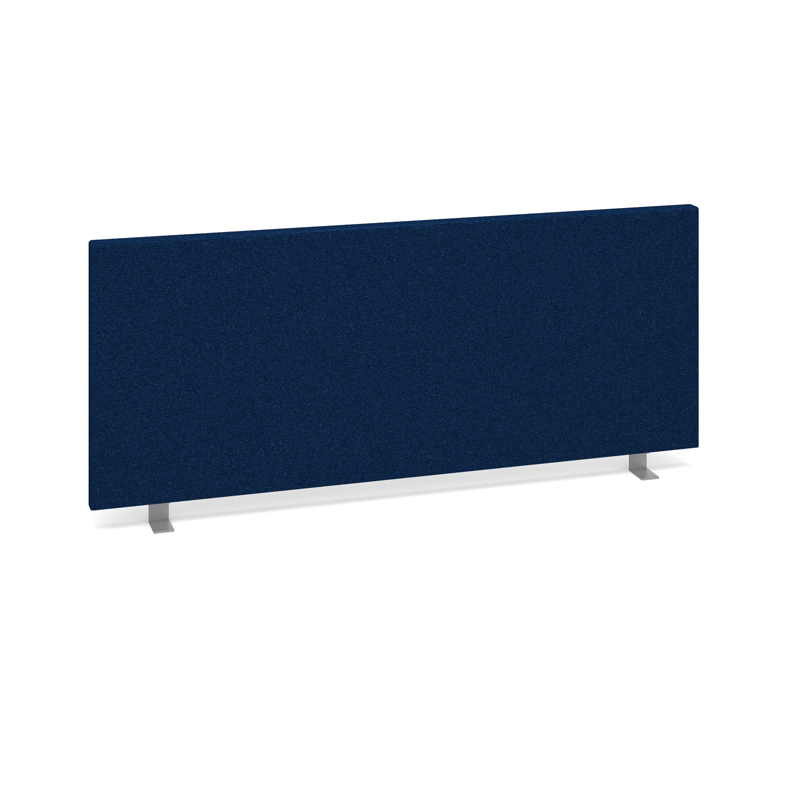 Straight Tops Straight desktop fabric screen 1000mm x 400mm - blue