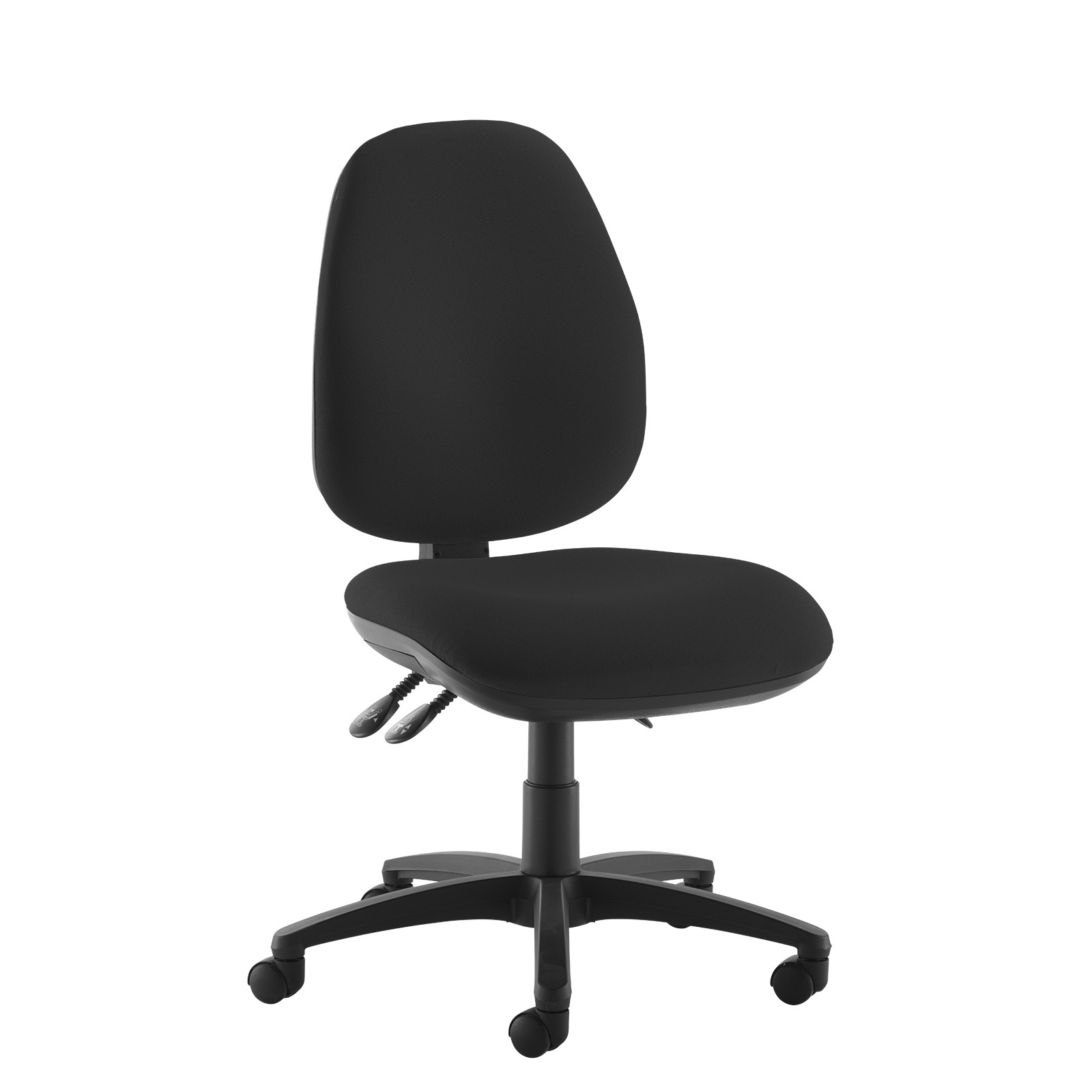 Desk Chairs Jota high back operator chair with no arms - black