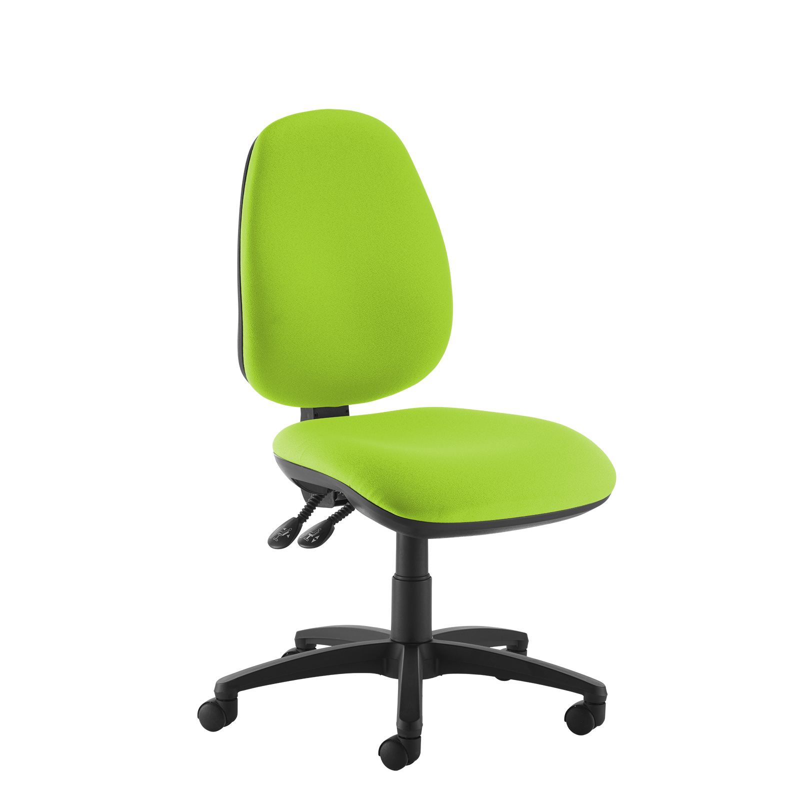 Desk Chairs Jota high back operator chair with no arms - green
