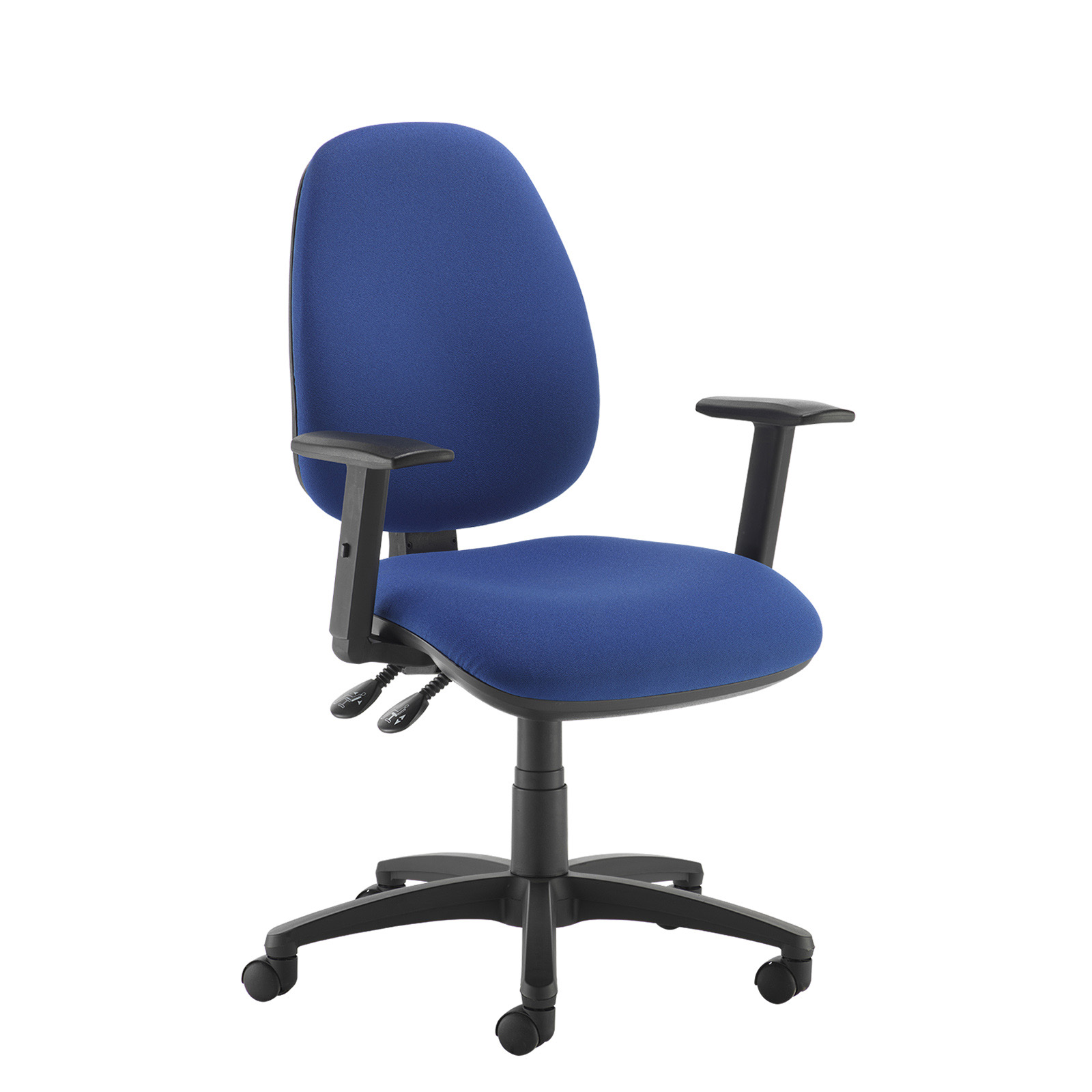 Desk Chairs Jota high back operator chair with adjustable arms - blue