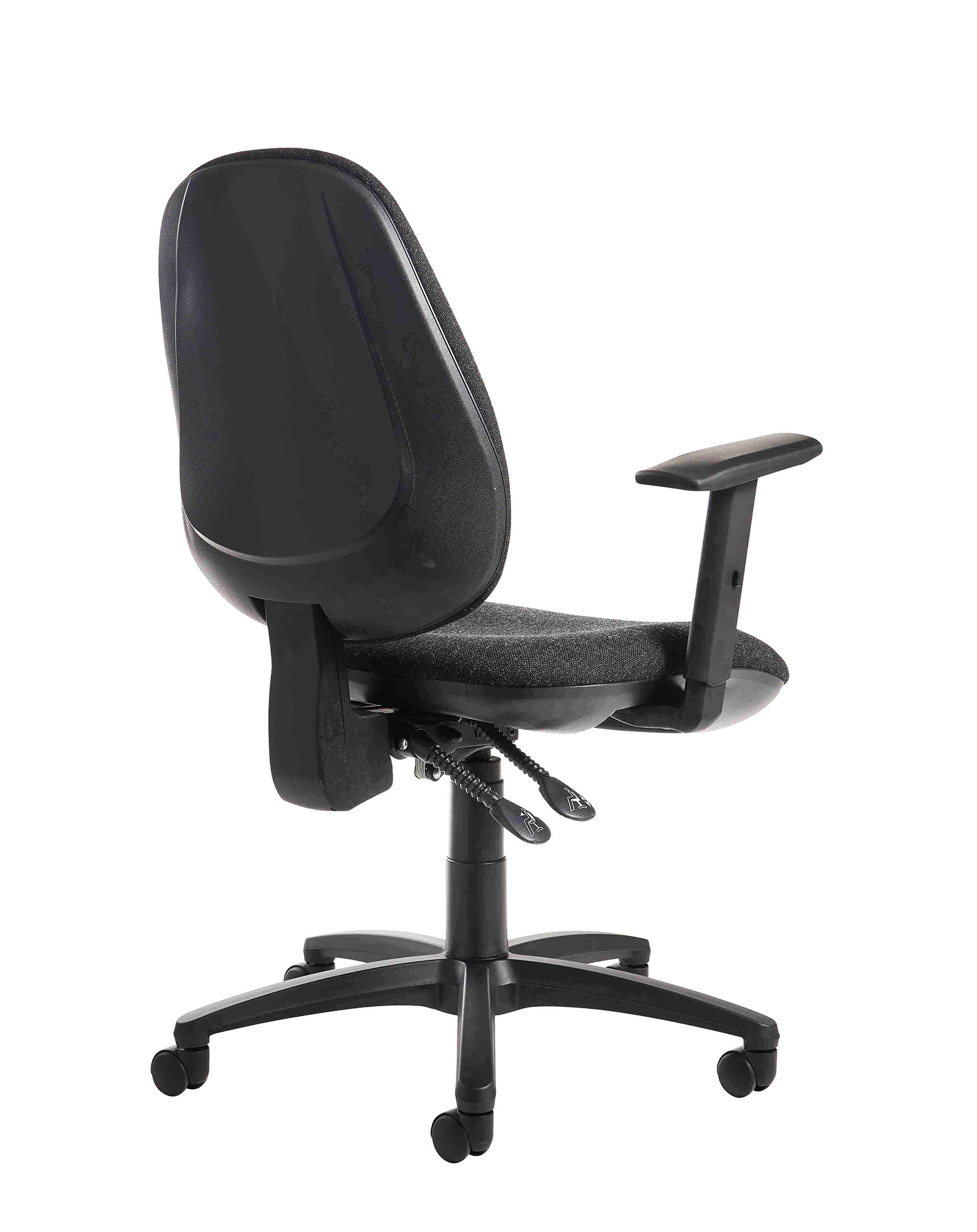 Jota high back operator chair with adjustable arms - charcoal