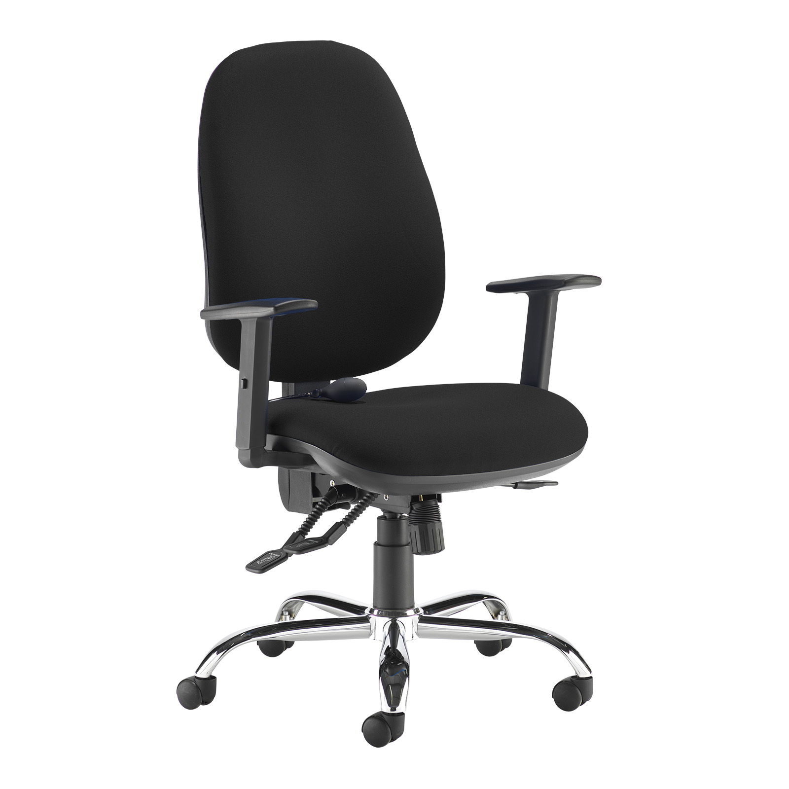 Desk Chairs Jota ergo 24hr ergonomic asynchro task chair - black
