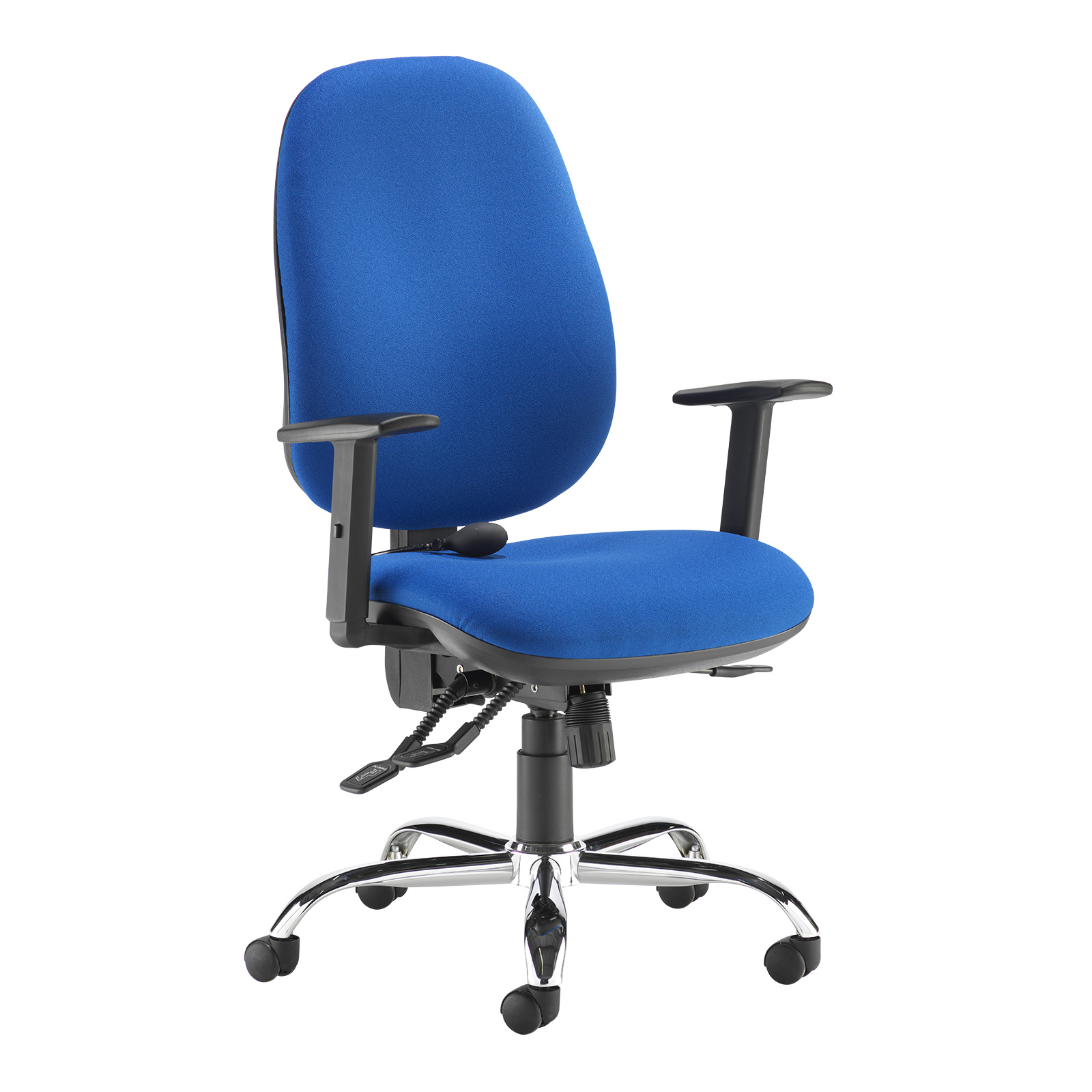Desk Chairs Jota ergo 24hr ergonomic asynchro task chair - blue