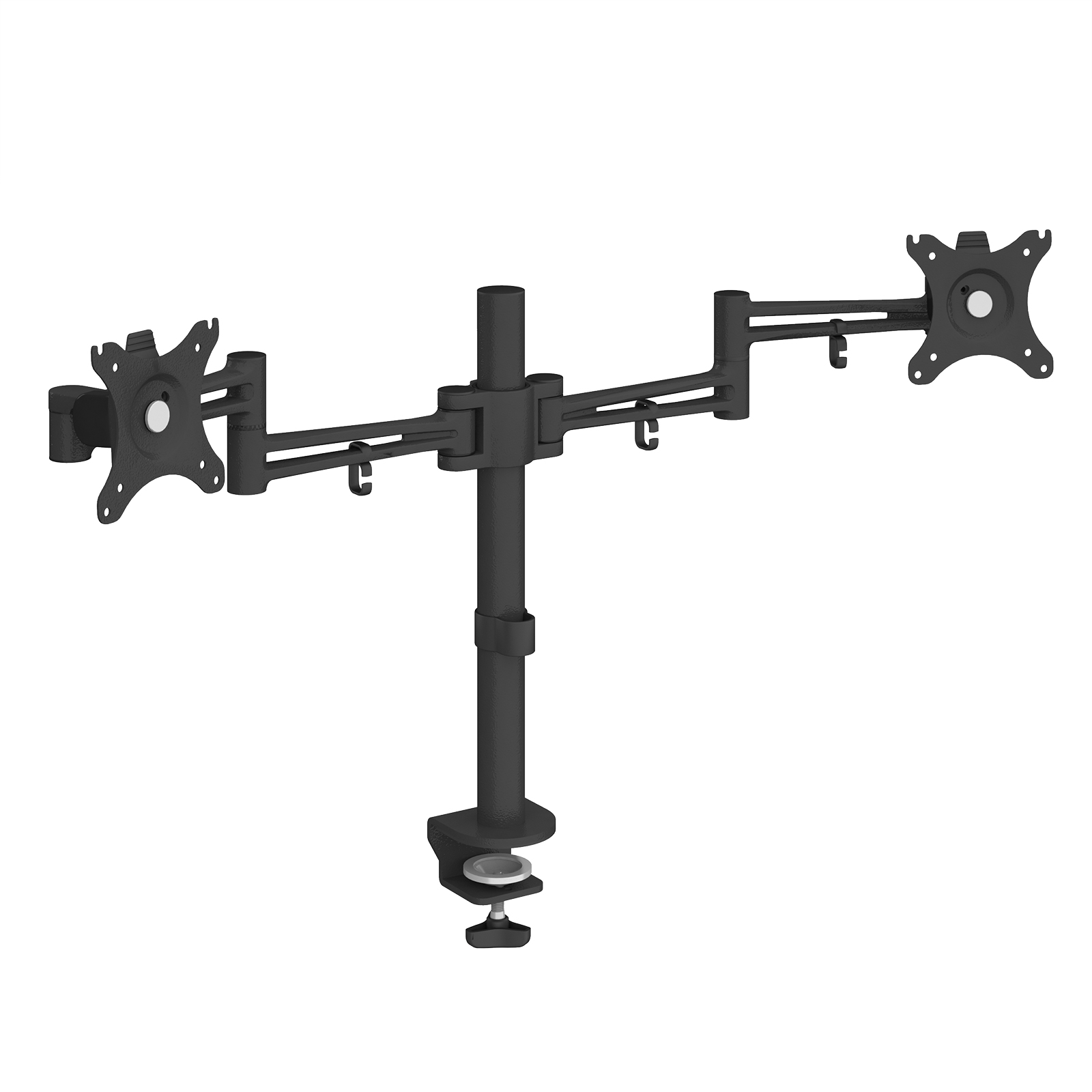 Arms Luna double flat screen monitor arm - black