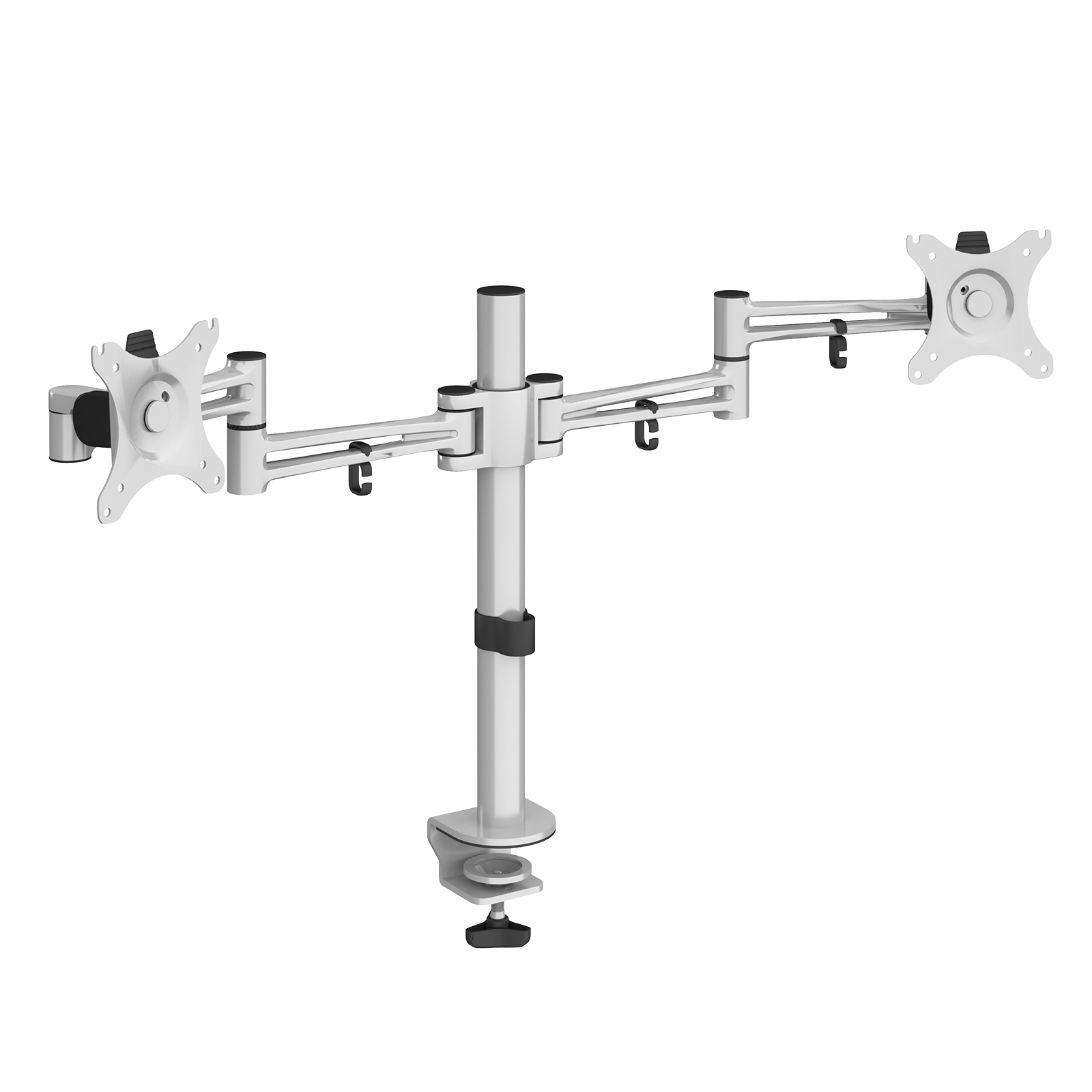 Arms Luna double flat screen monitor arm - silver