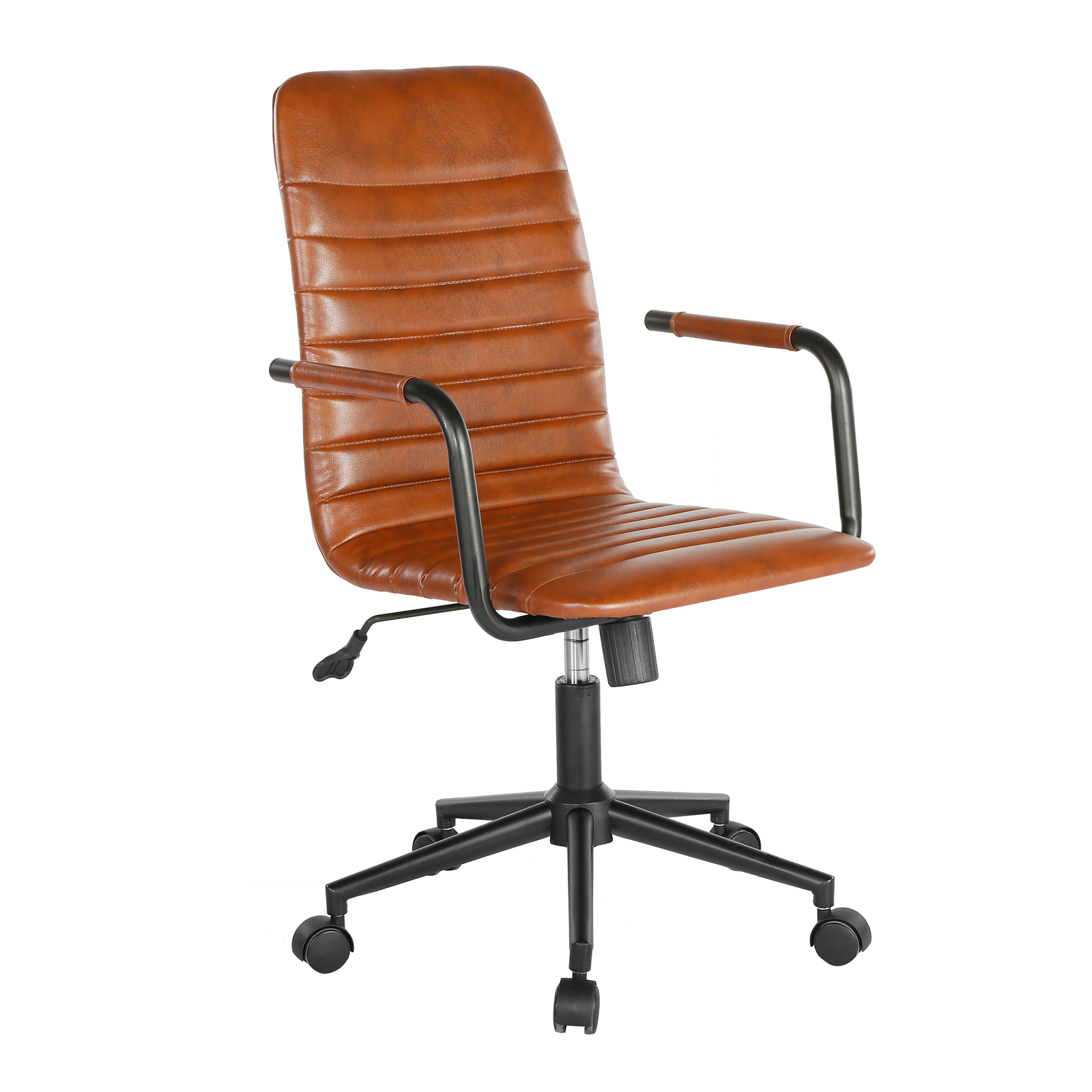 Desk Chairs Beat faux leather operator chair