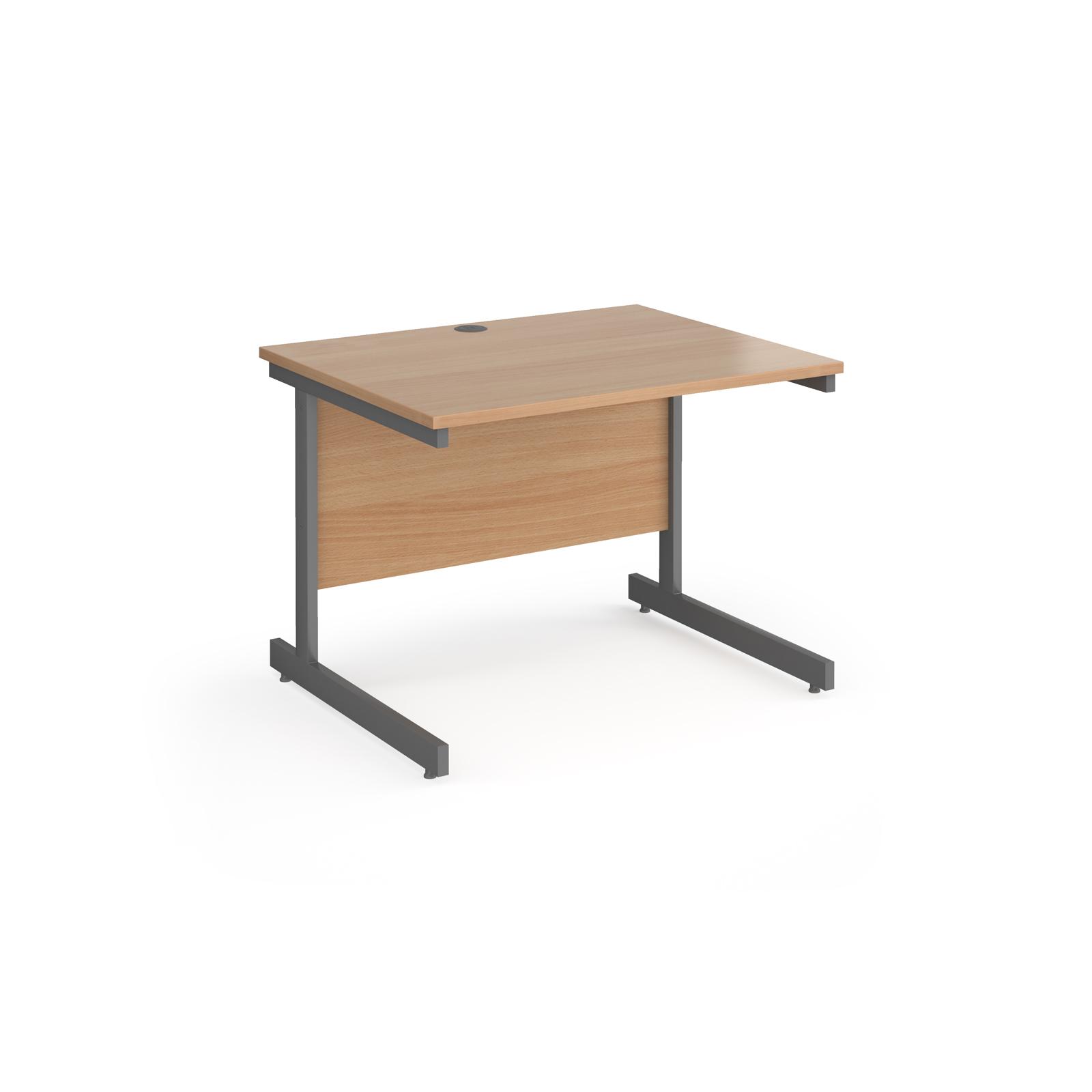 Rectangular Desks Contract 25 cantilever leg straight desk