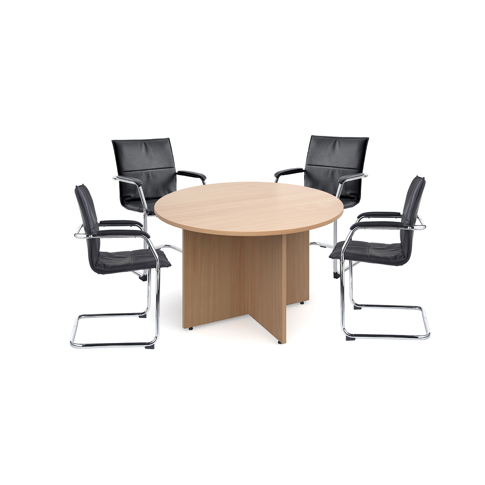 Boardroom / Meeting Essen visitors chairs with meeting table