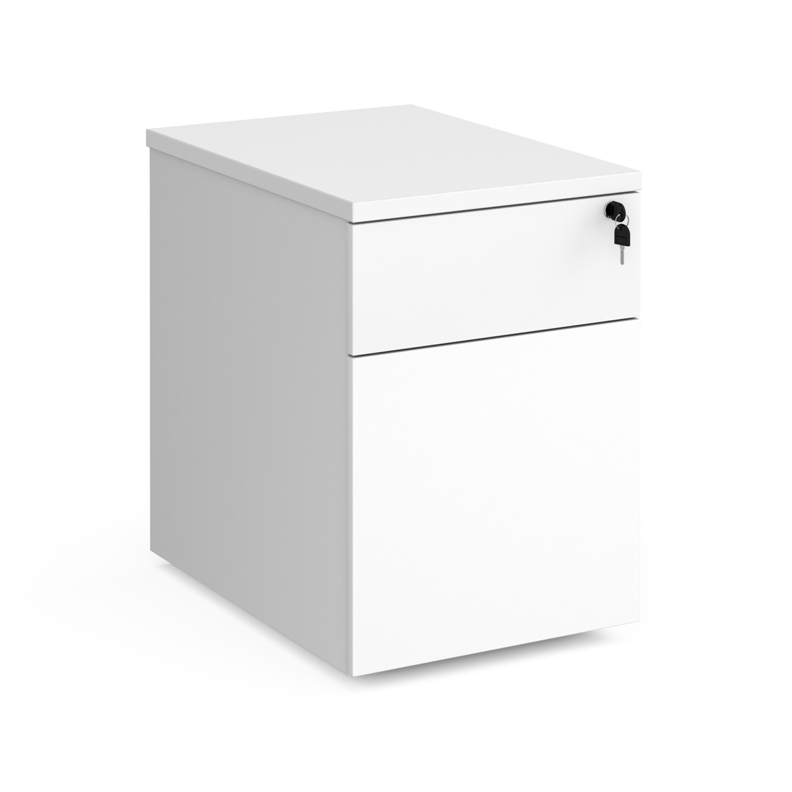 2 Drawer Duo deluxe mobile pedestal