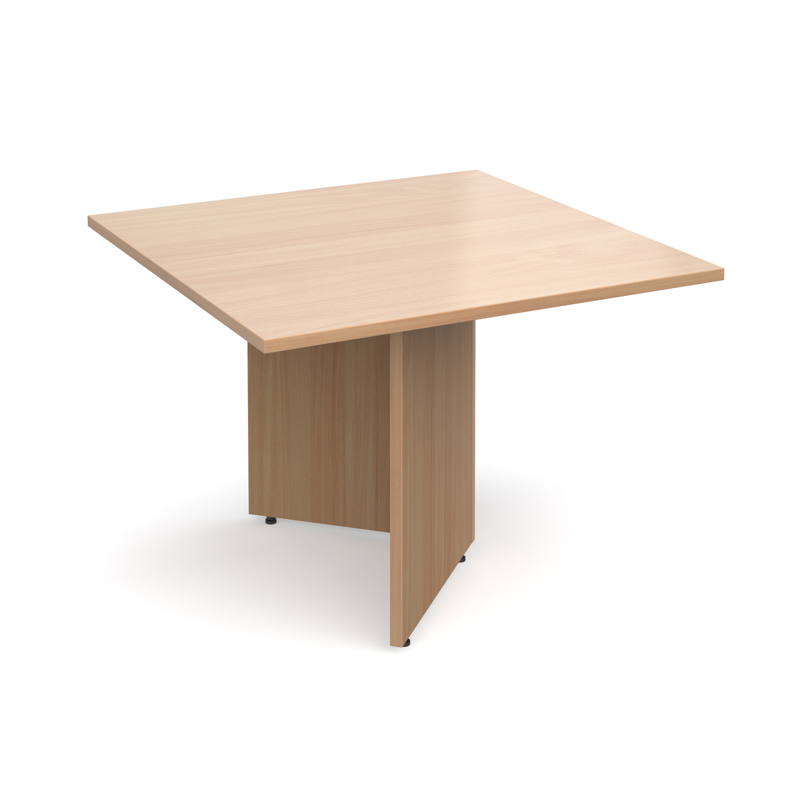 Boardroom / Meeting Arrow head leg square extension table