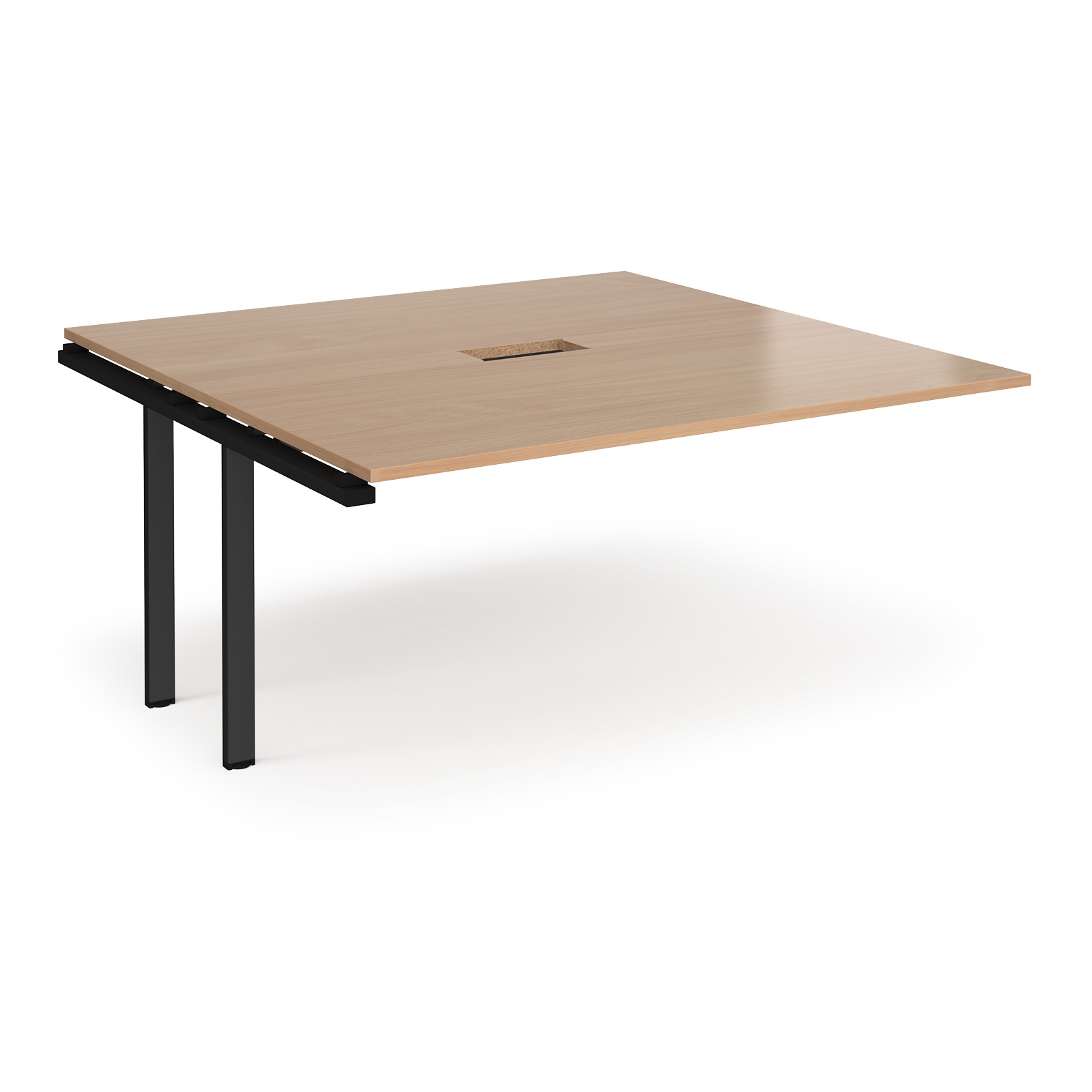 Boardroom / Meeting Adapt square power ready add-on boardroom table