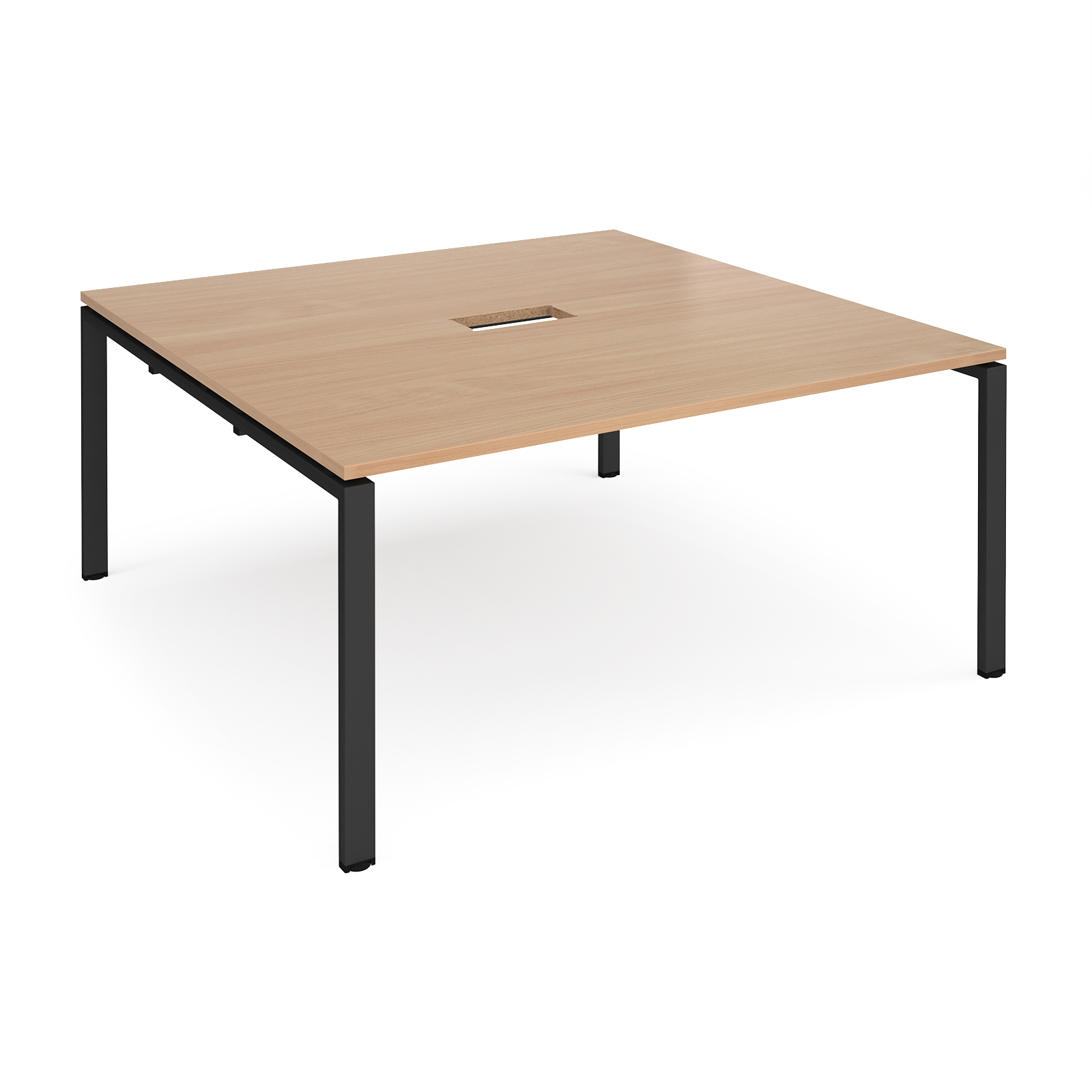 Boardroom / Meeting Adapt square power ready boardroom table