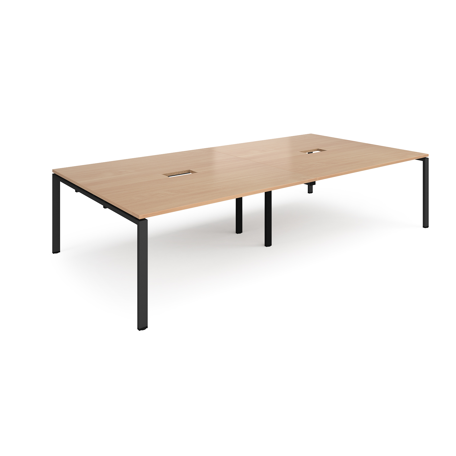 Boardroom / Meeting Adapt rectangular power ready boardroom table
