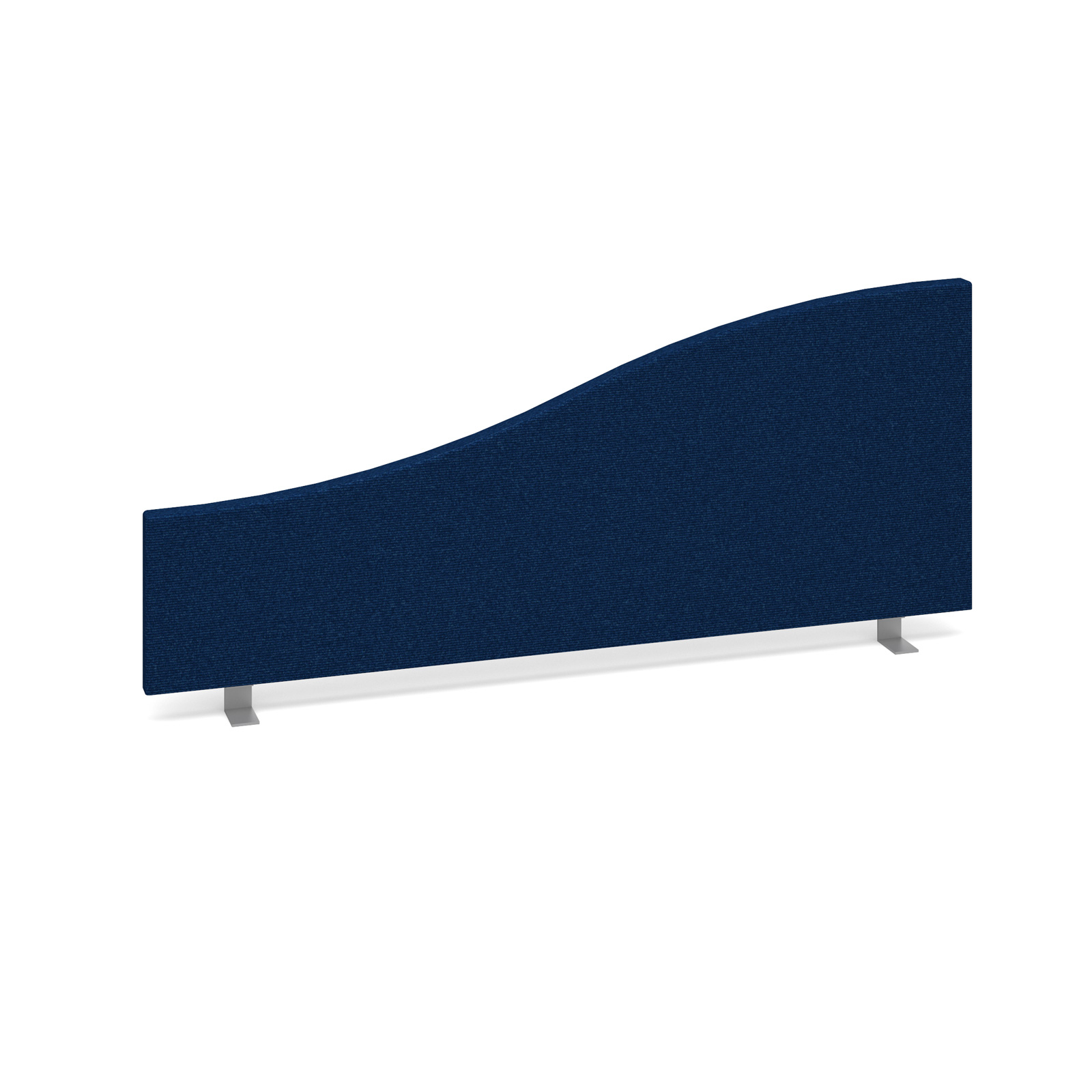 Curved Tops Wave desktop fabric screen