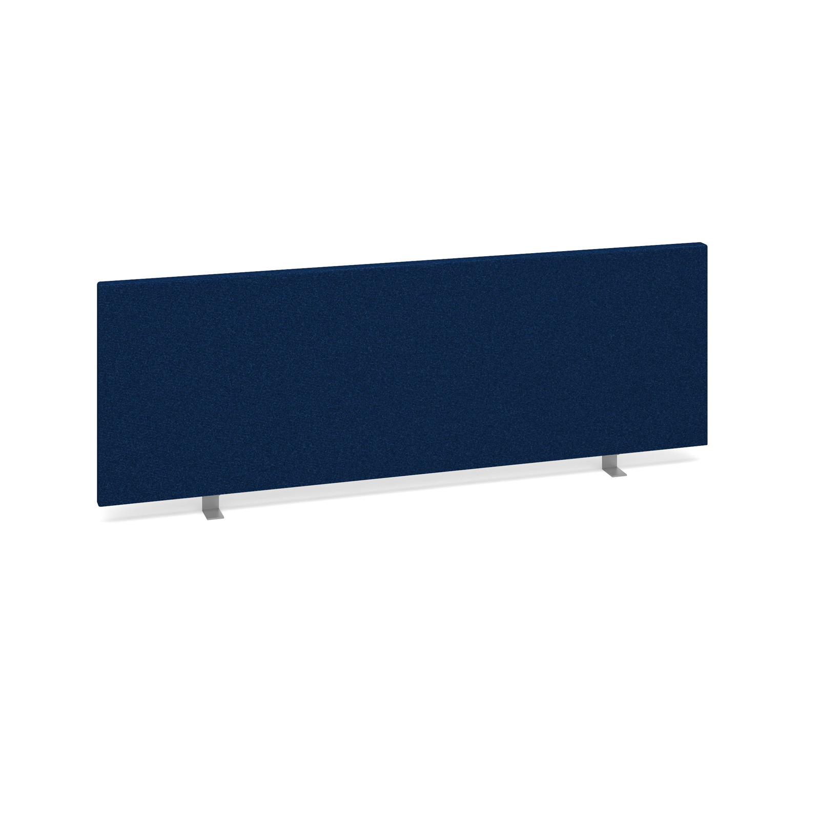 Straight Tops Straight desktop fabric screen 1200mm x 400mm - blue