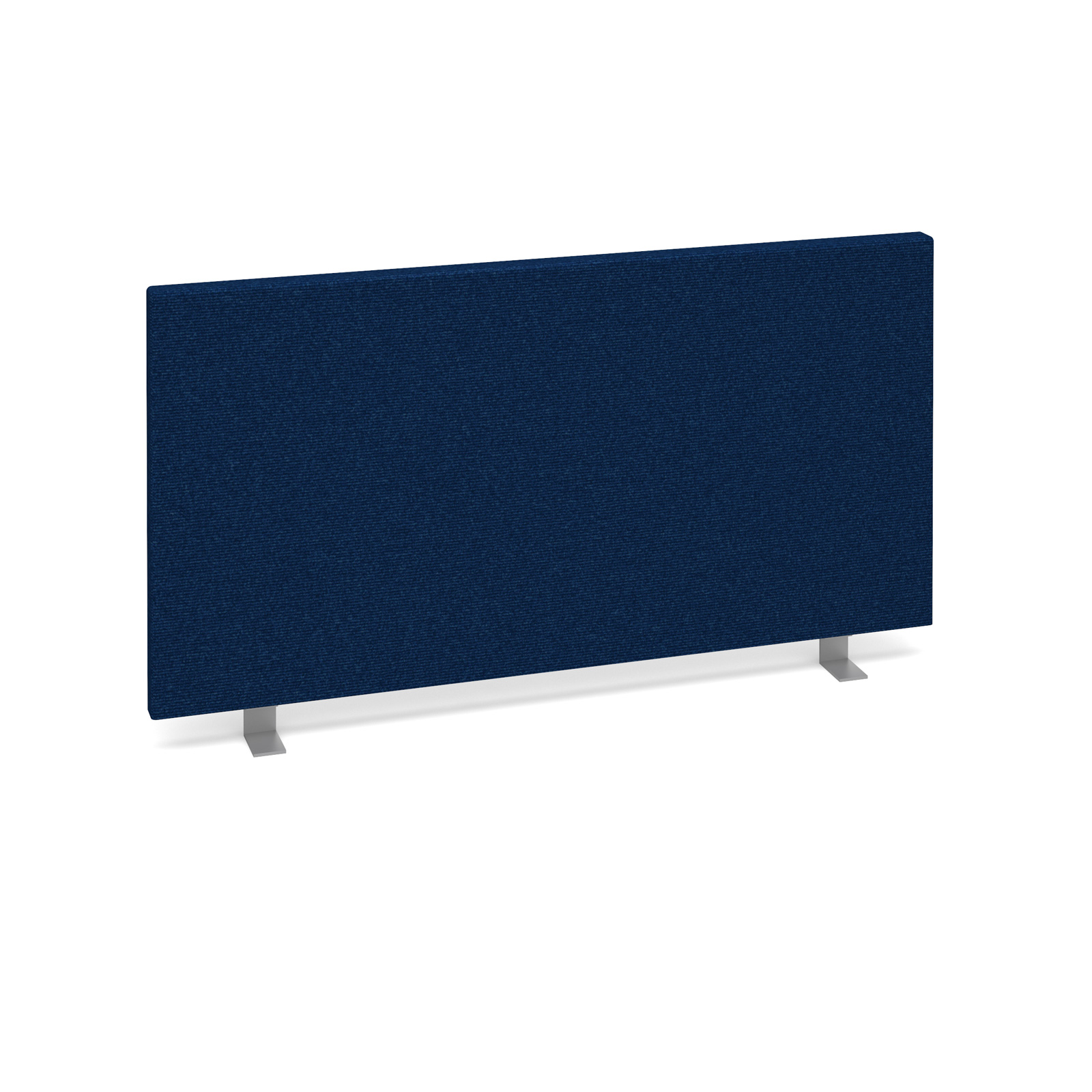 Straight Tops Straight desktop fabric screen 800mm x 400mm - blue