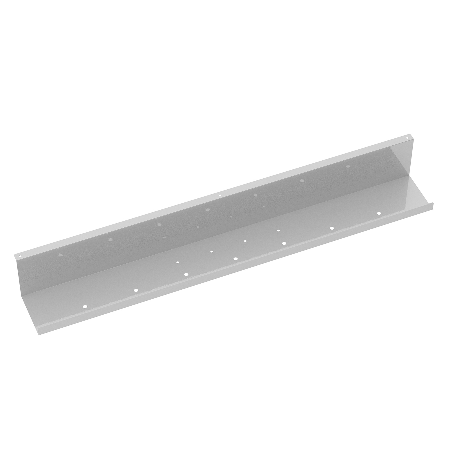 Cable Tidies Elev8 upper cable channel for single desks