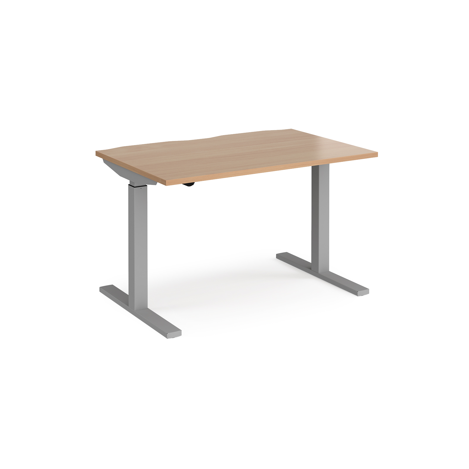 Sit Stand Desking Elev8 Mono straight sit-stand desk 800mm deep