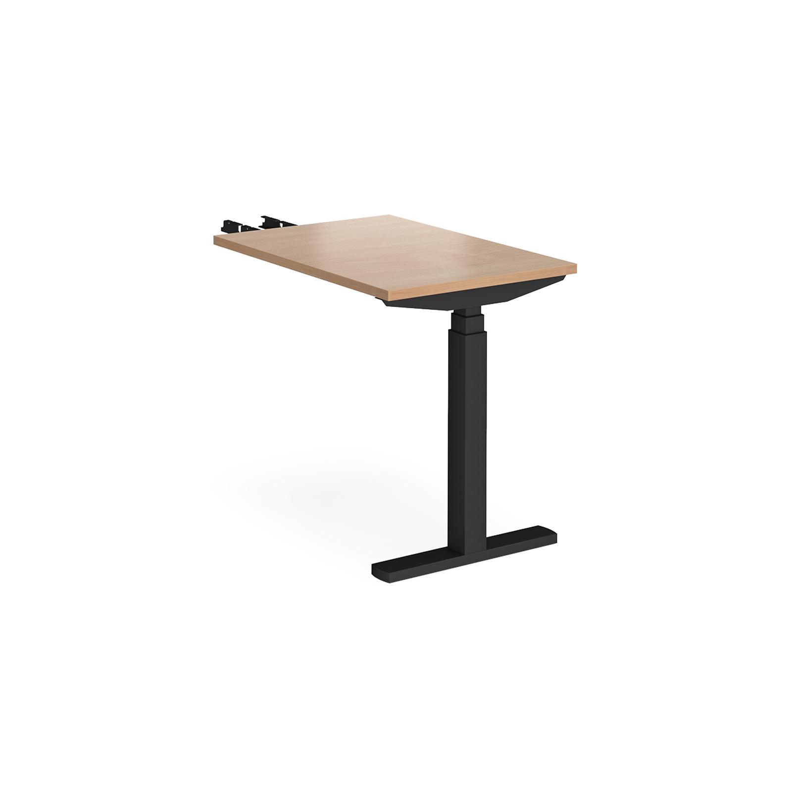Sit Stand Desking Elev8 Touch sit-stand return desk 800mm deep