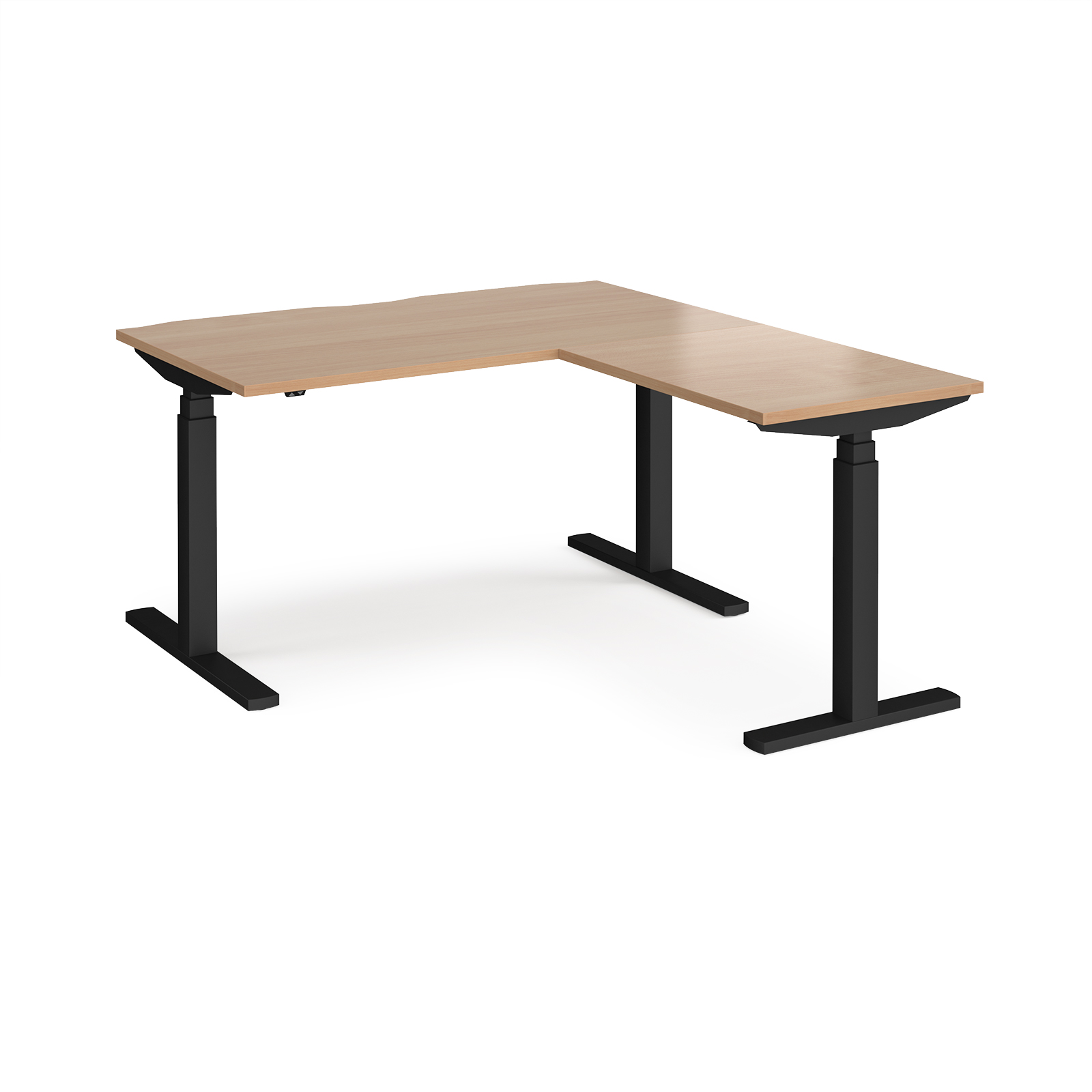 Sit Stand Desks Elev8 Touch desk with return