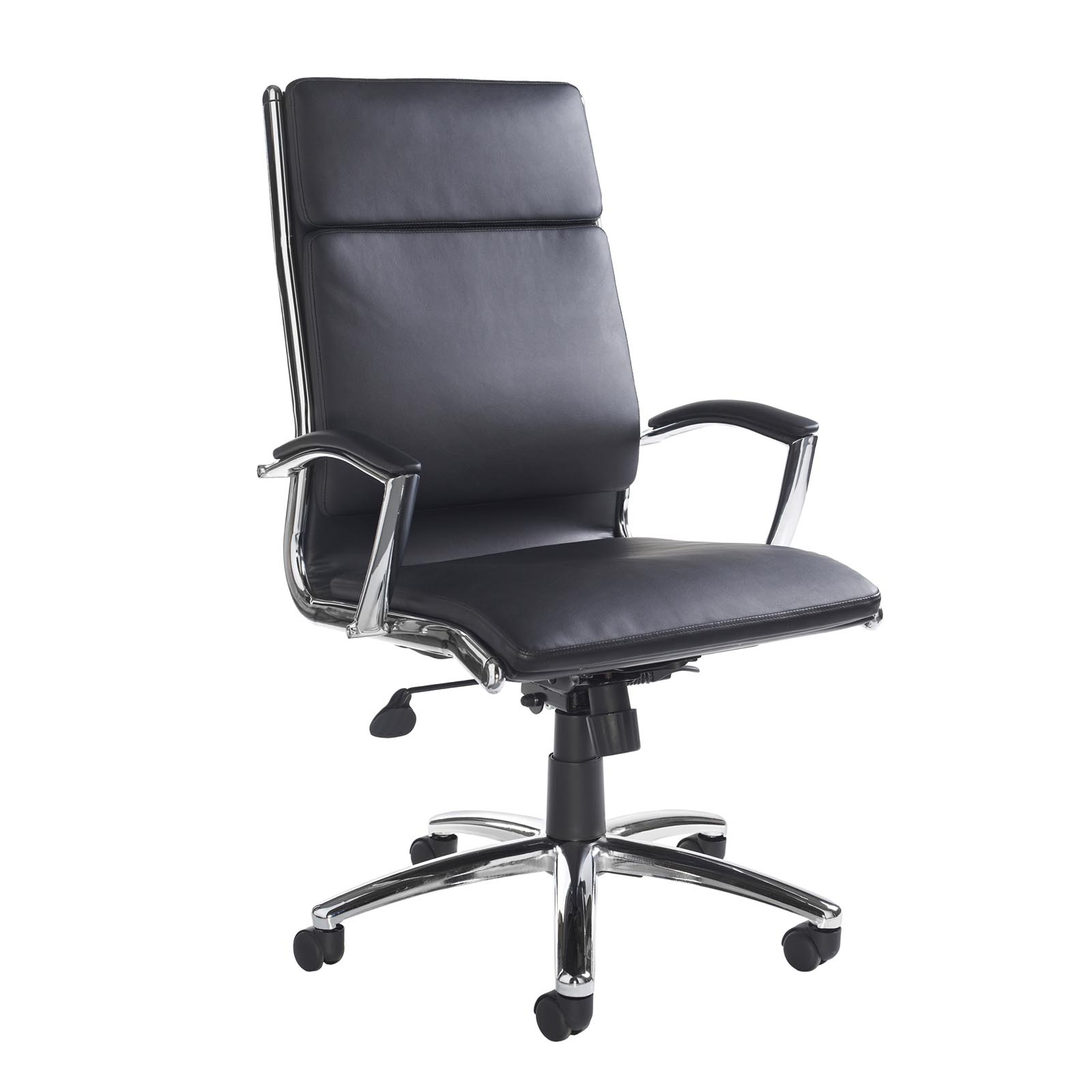 Executive Chairs Florence high back executive chair - black faux leather