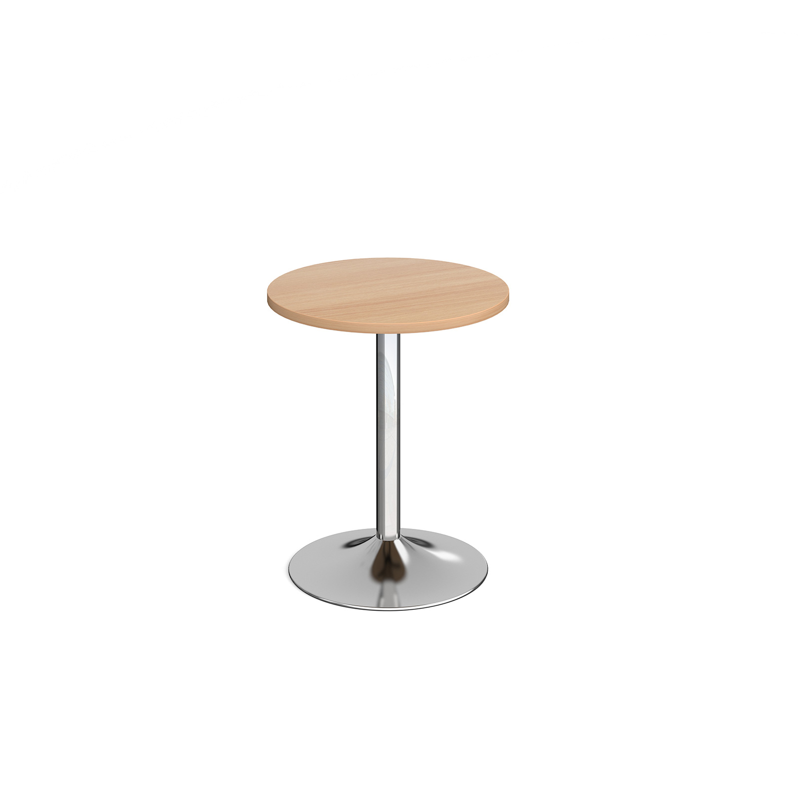 Canteen / Dining Genoa circular dining table with trumpet base