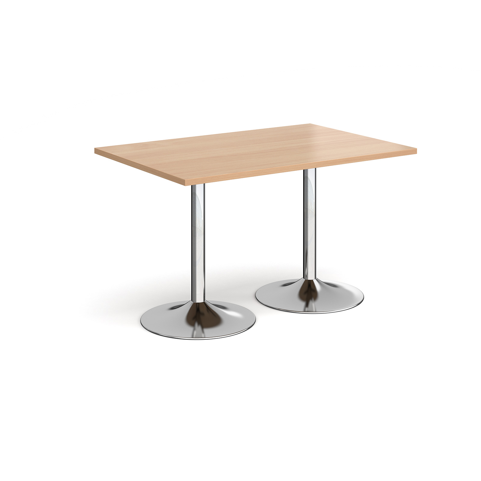 Canteen / Dining Genoa rectangular dining table with trumpet base