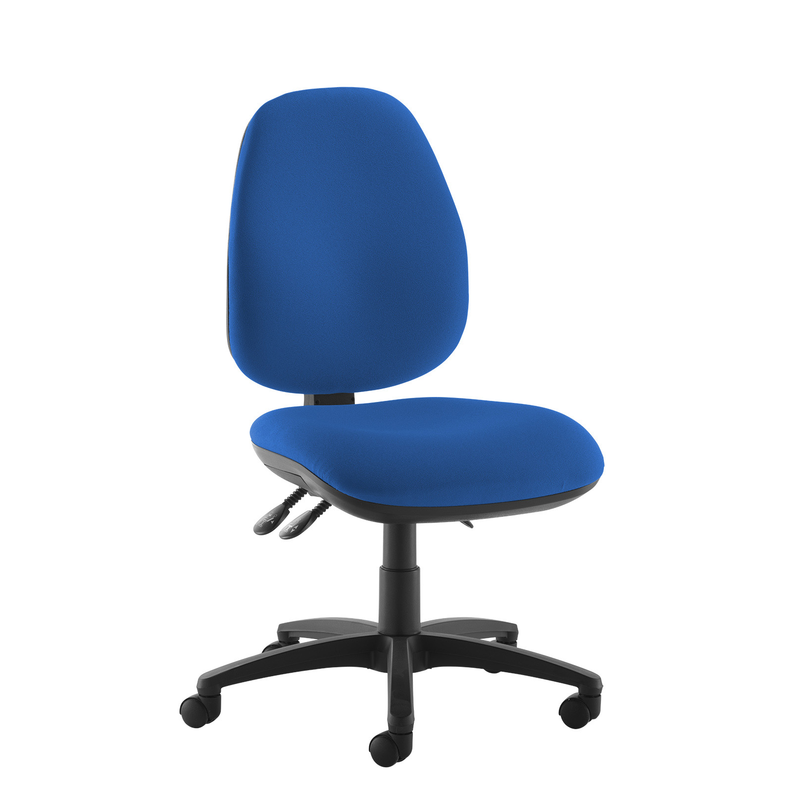 Desk Chairs Jota high back operator chair with no arms - blue