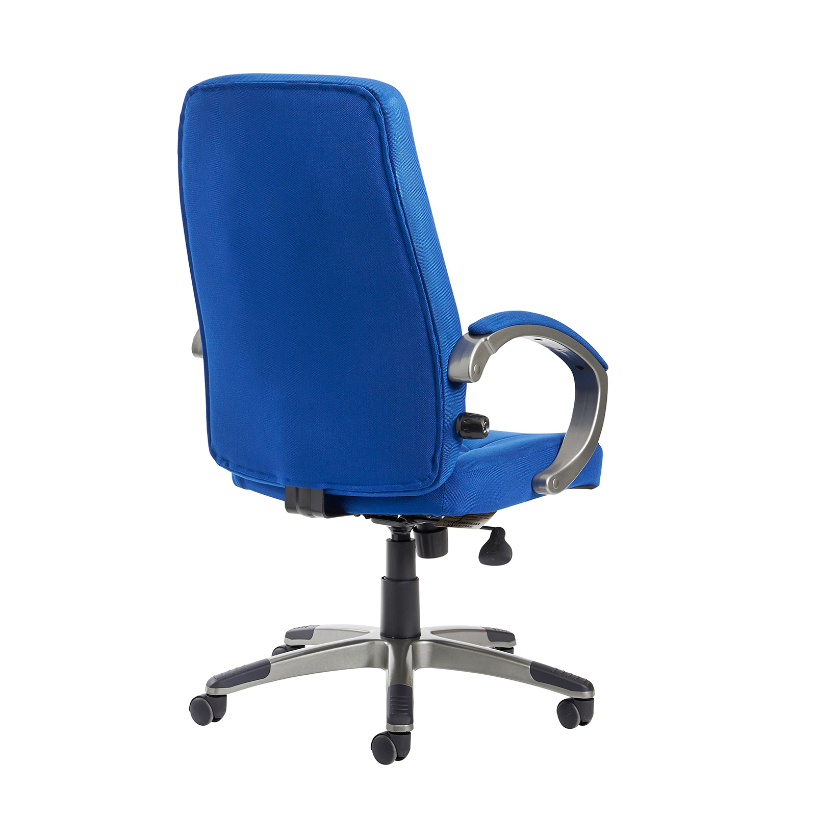 Lucca high back fabric managers chair - blue