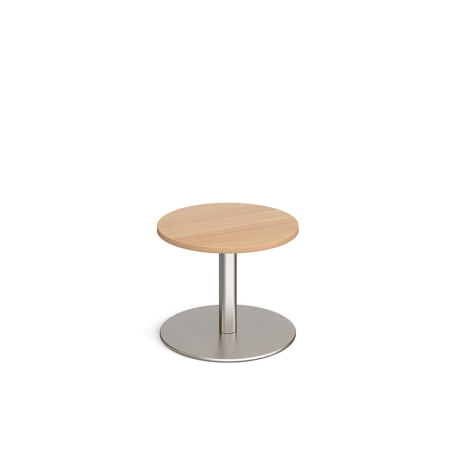 Coffee Monza circular coffee table with flat round base