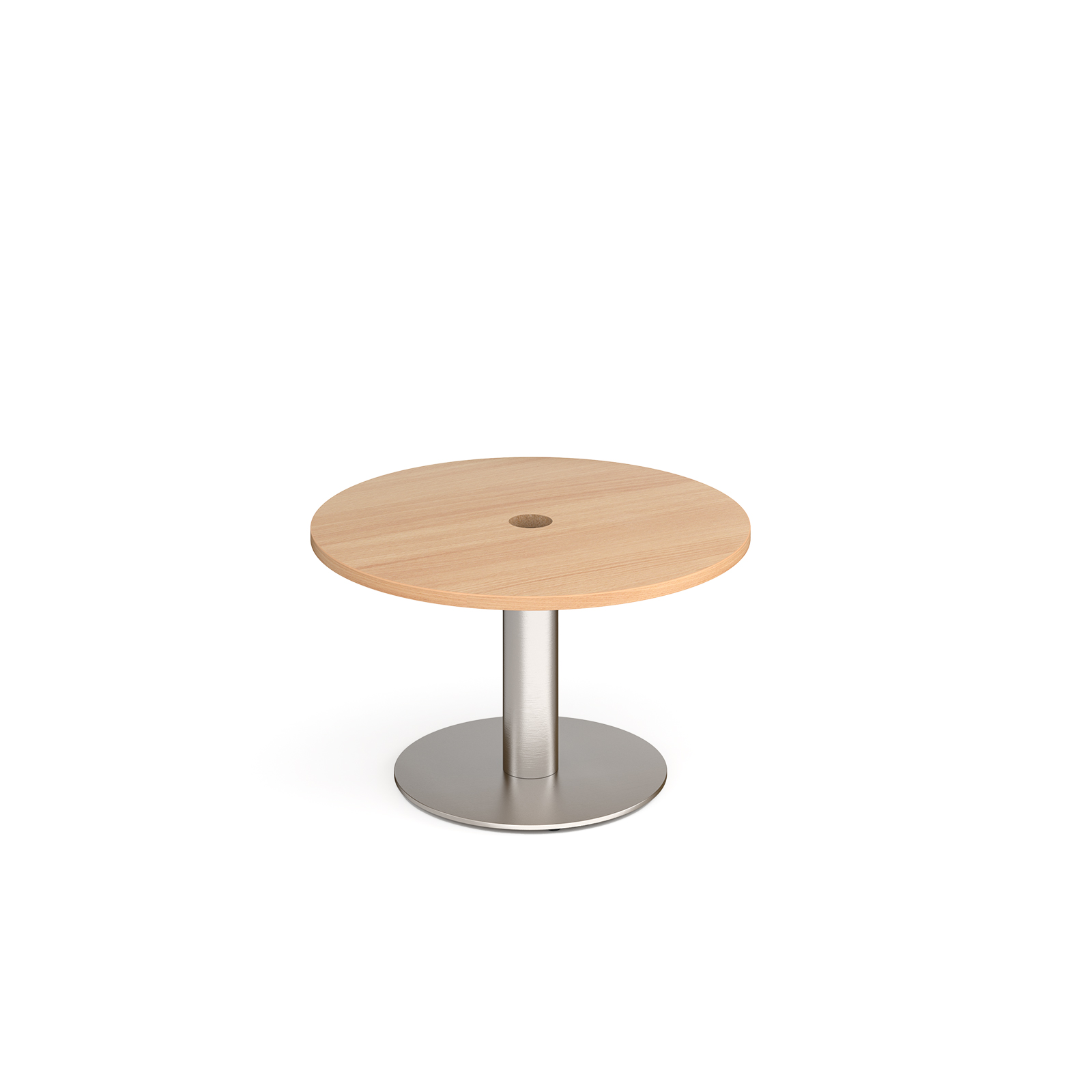 Coffee Monza circular power ready coffee table