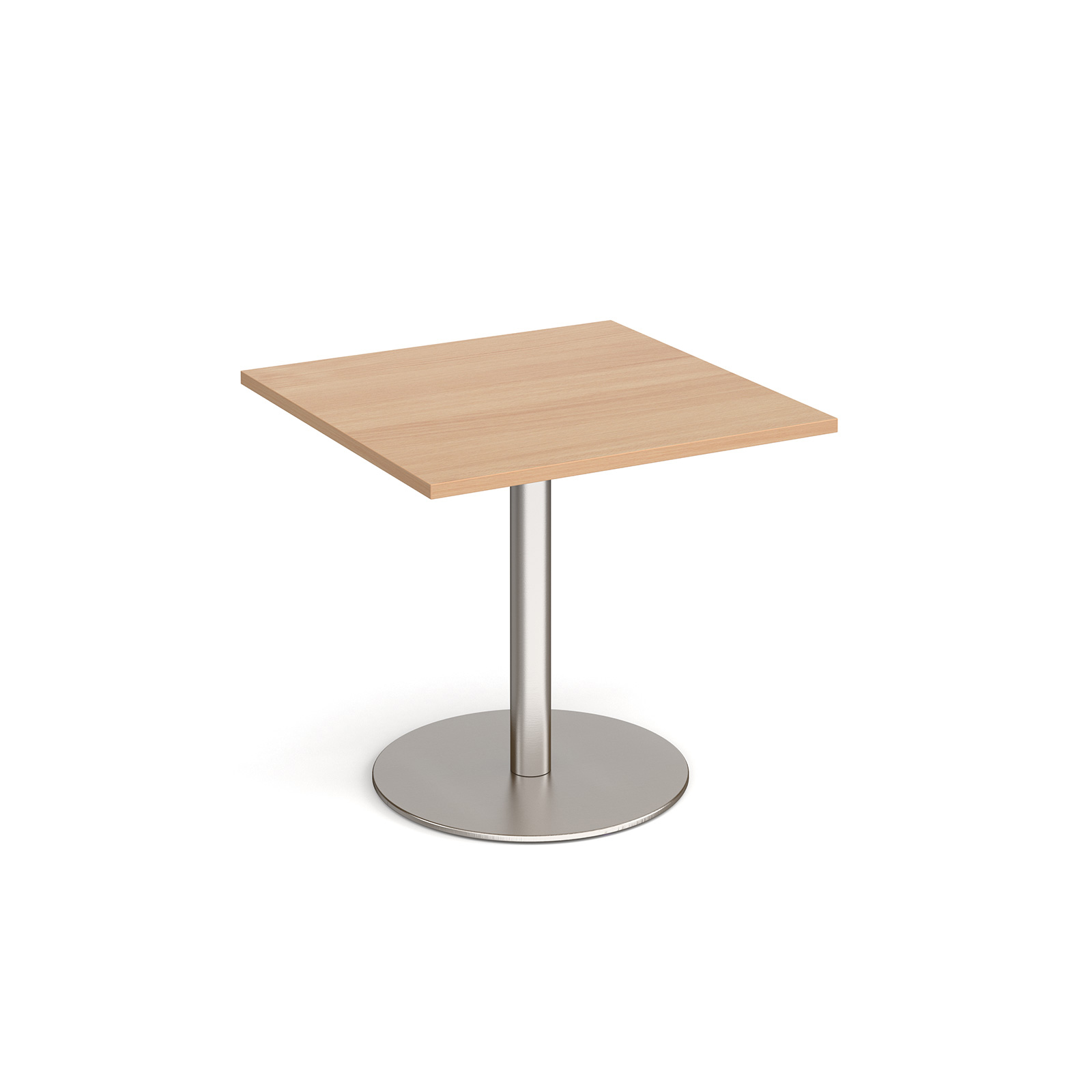 Canteen / Dining Monza square dining table with flat round base