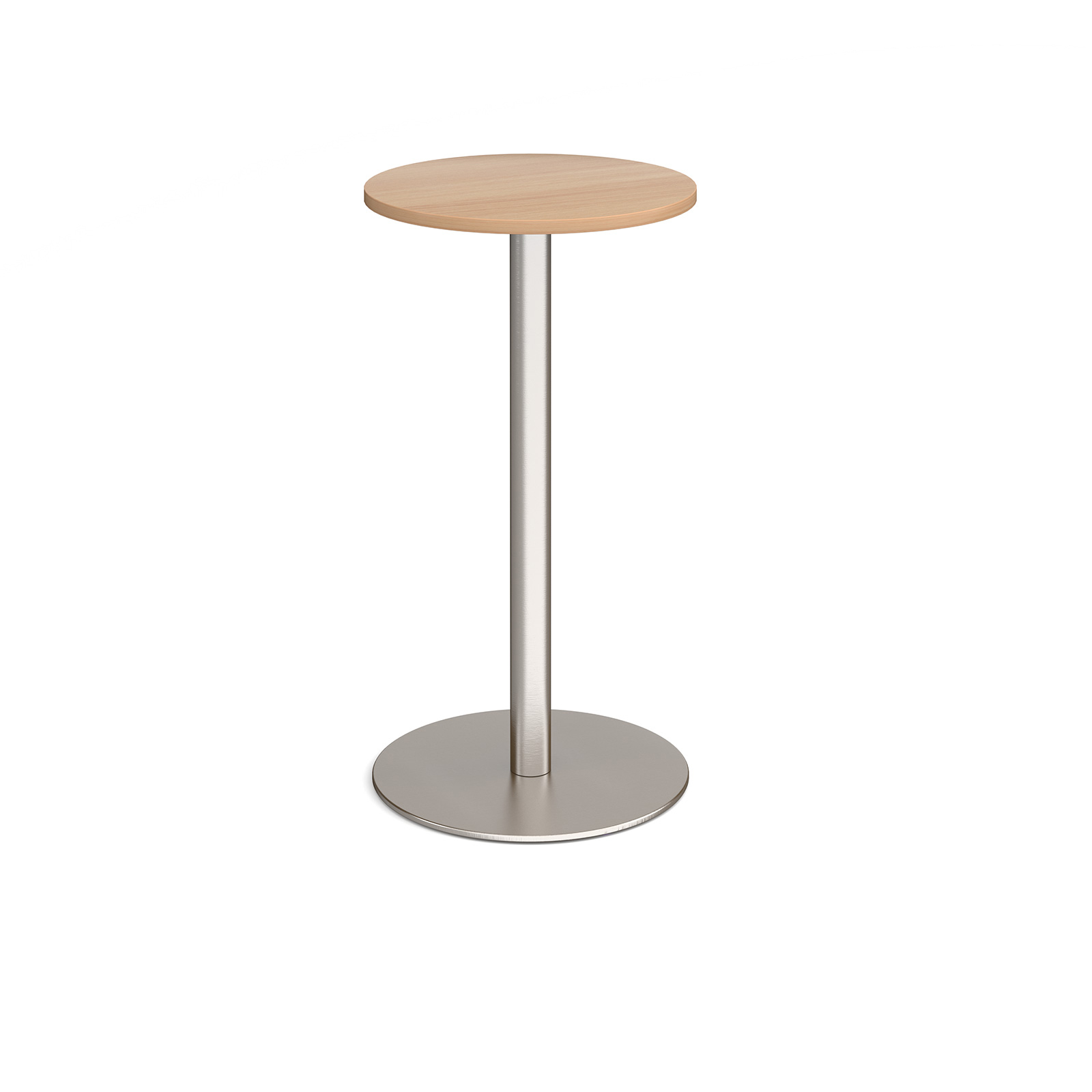 Canteen / Dining Monza circular poseur table with flat round base