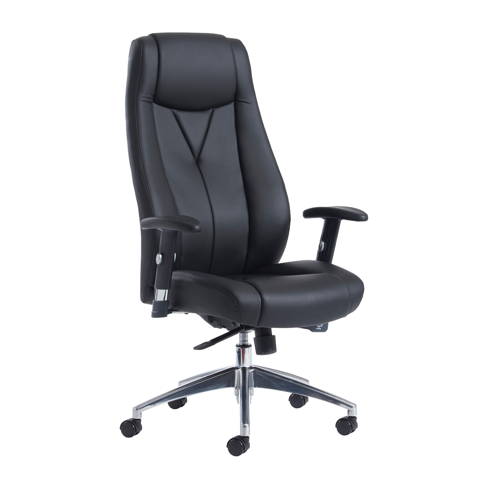 Executive Chairs Odessa high back executive chair - black faux leather