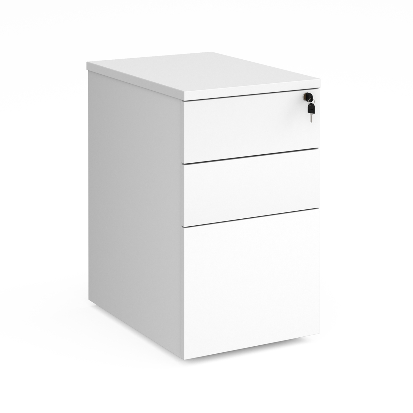 Duo deluxe desk high pedestal 600mm