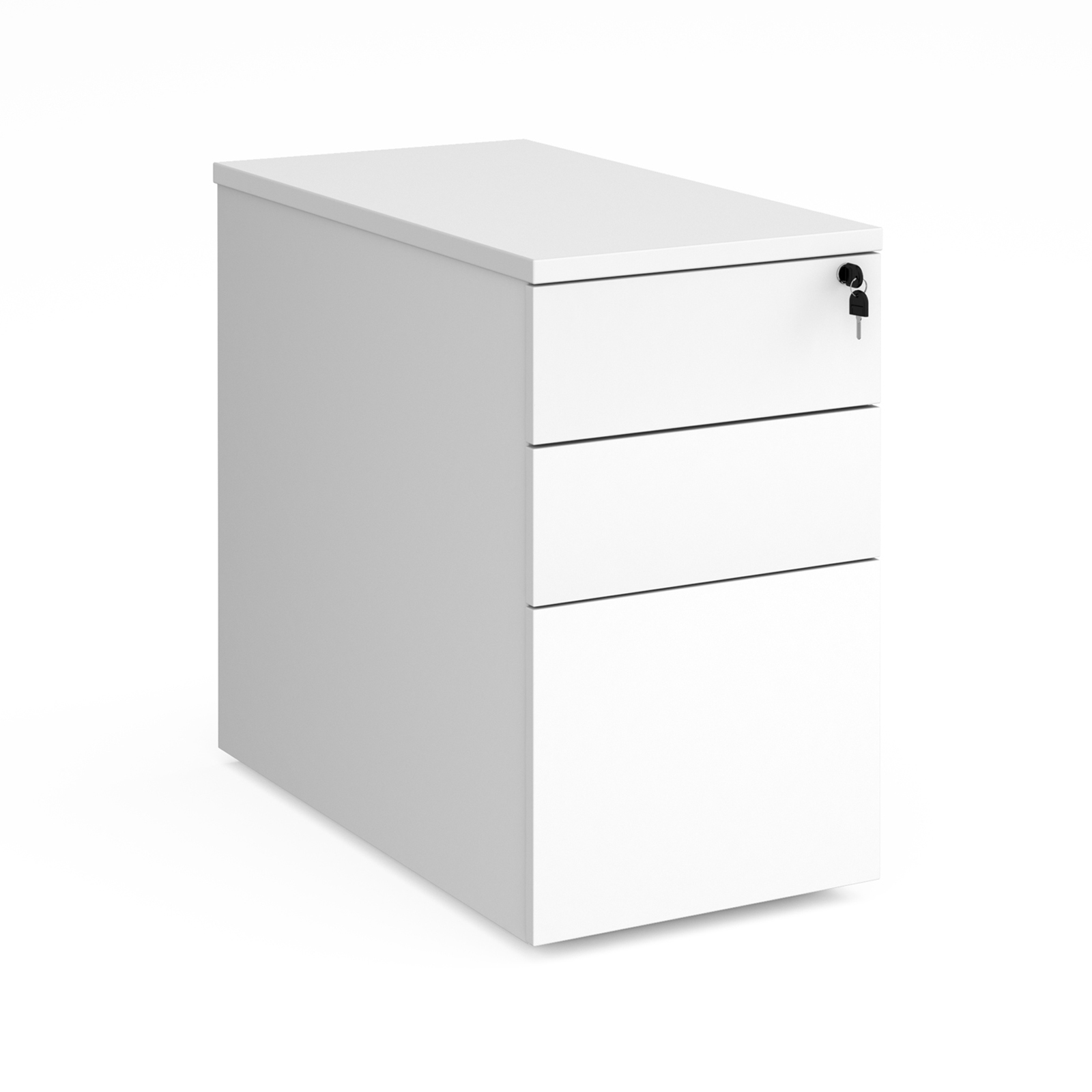Duo deluxe desk high pedestal 800mm