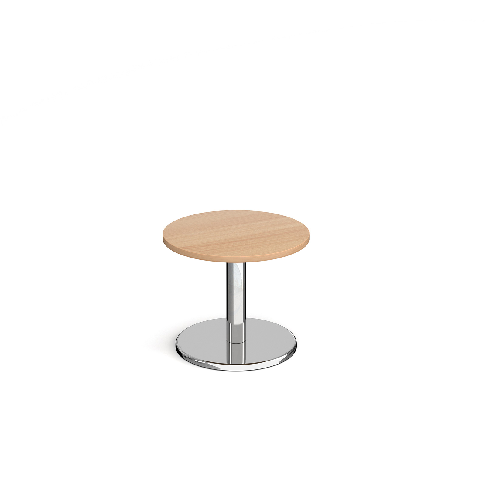 Coffee Pisa circular coffee table with round base