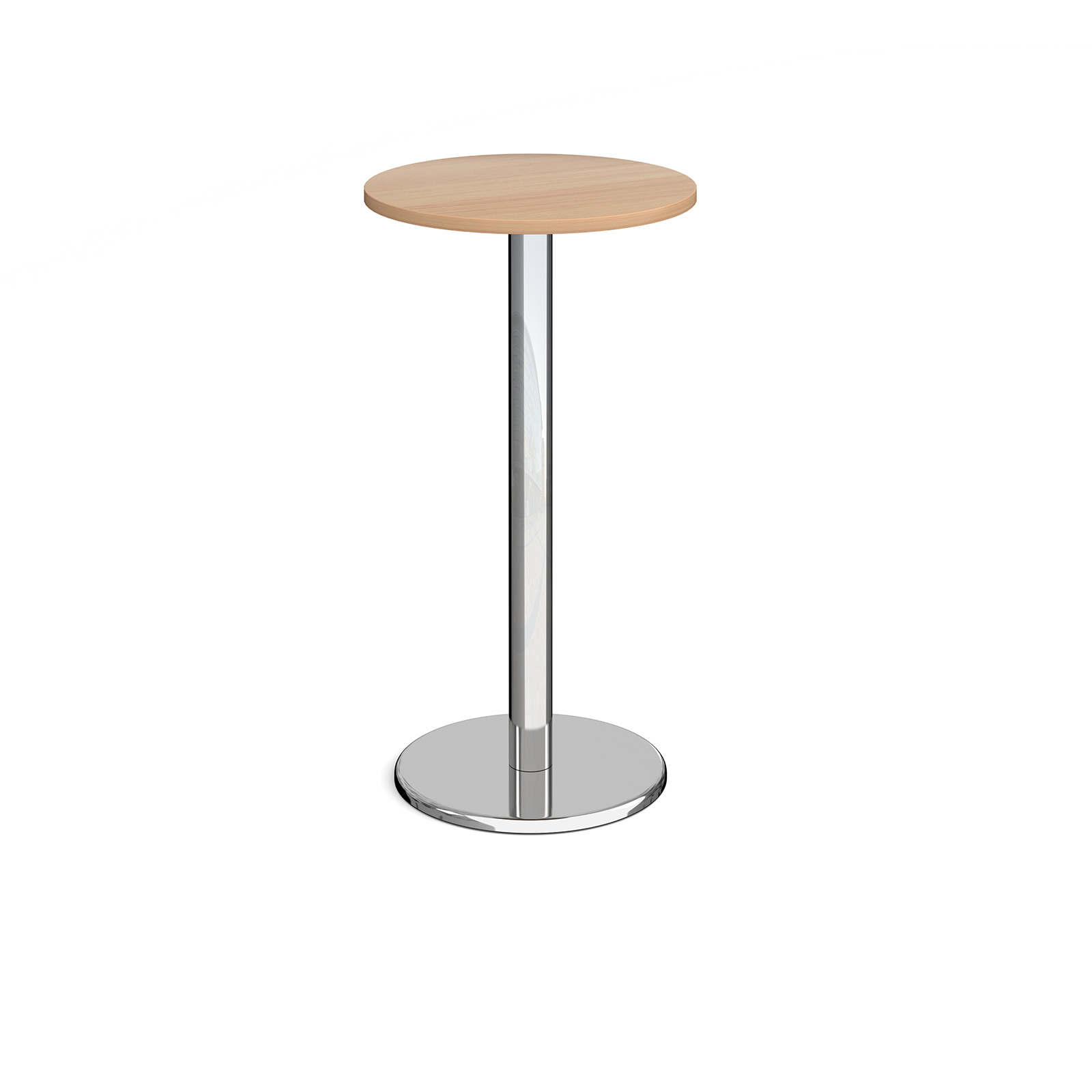 Pisa circular poseur table with round base