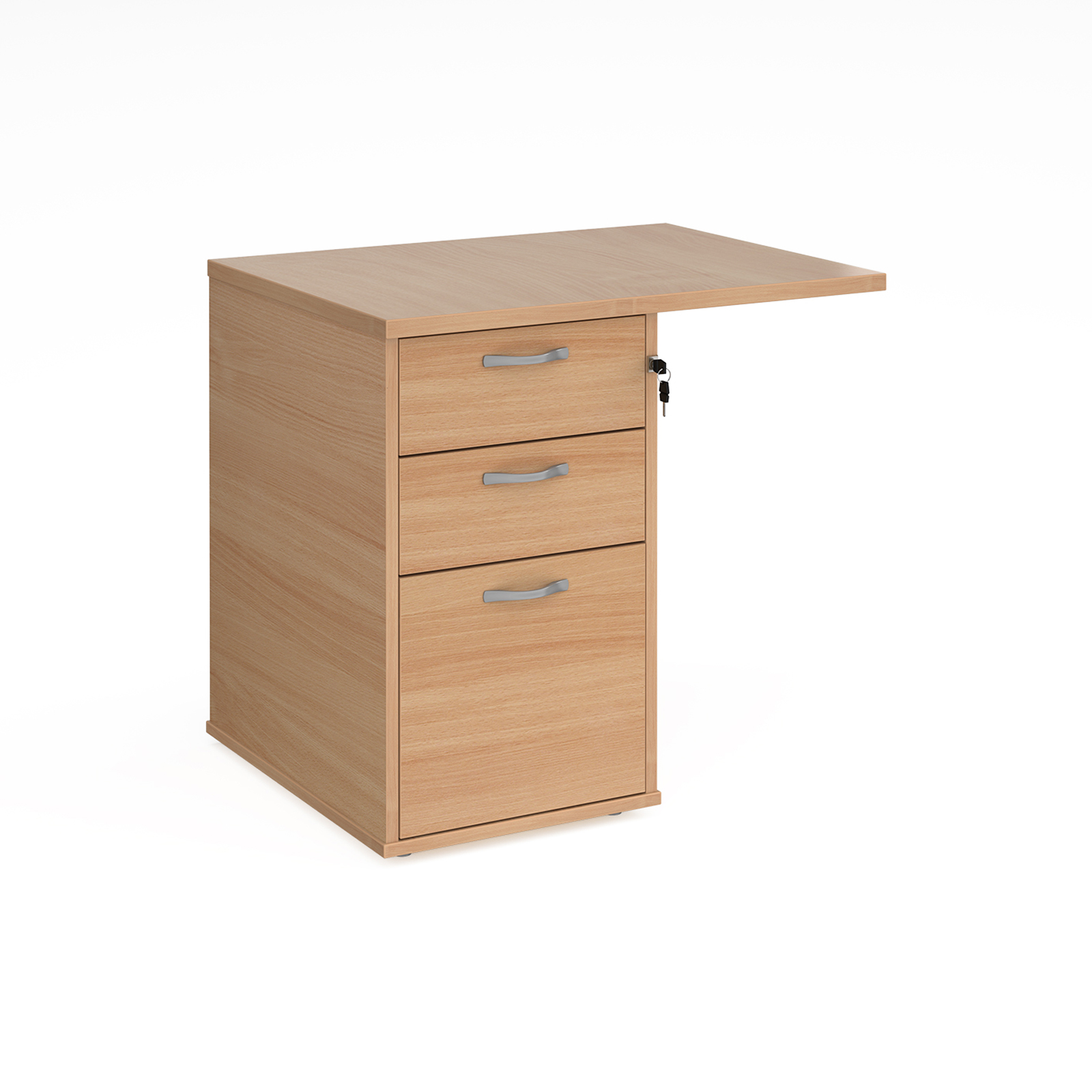 Desk extension pedestal
