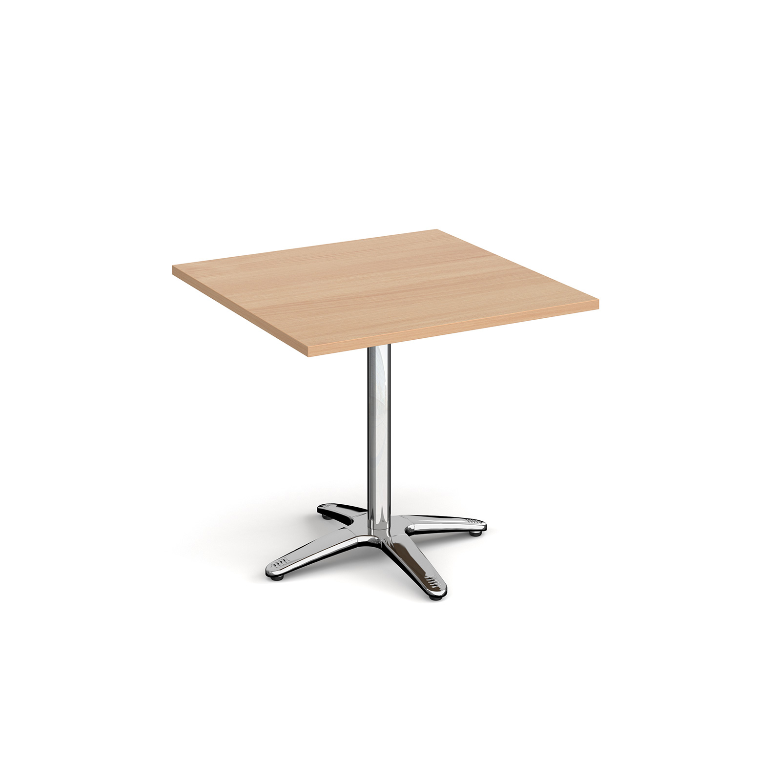 Canteen / Dining Roma square dining table with 4 leg base