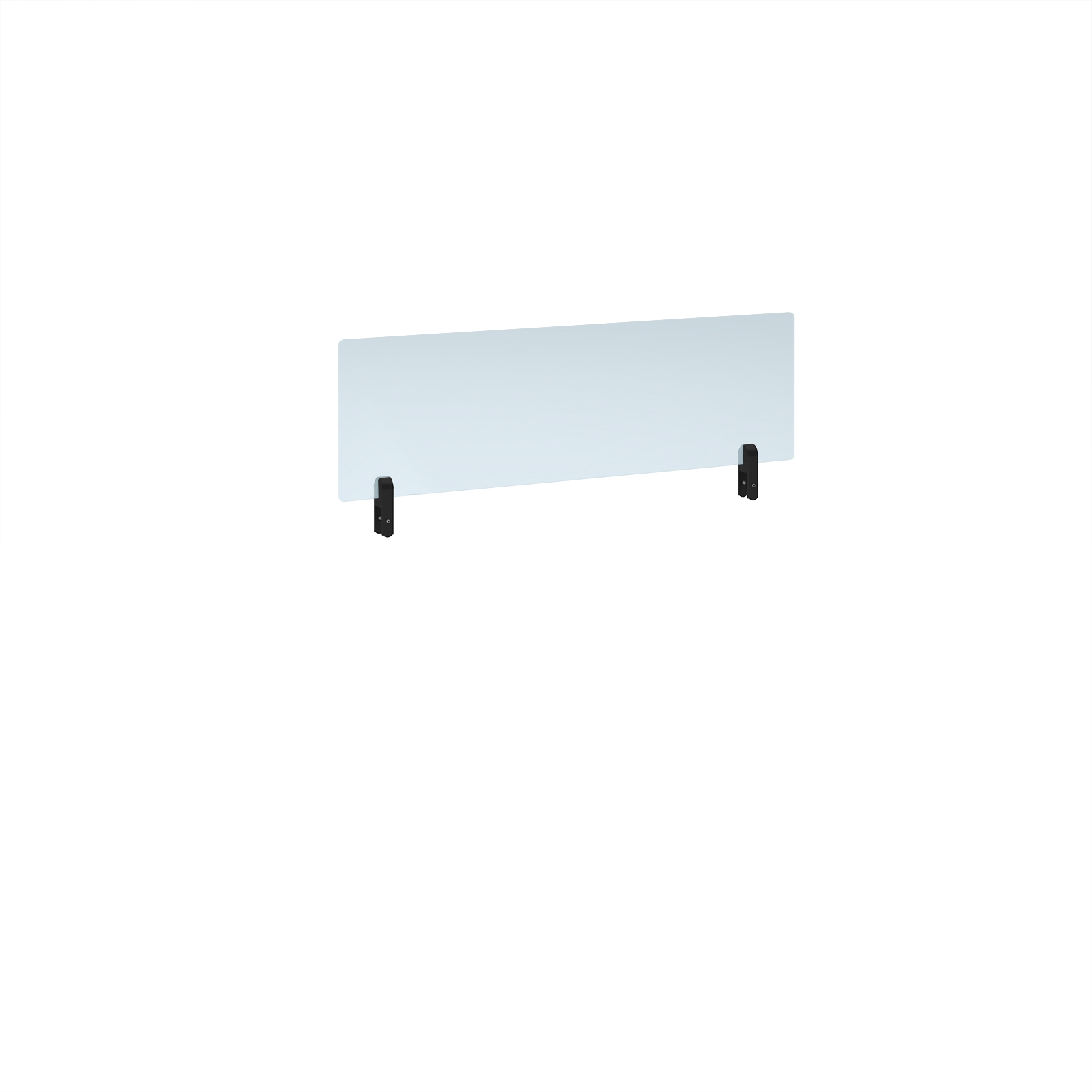 Desk Mounted Desktop acrylic screen topper